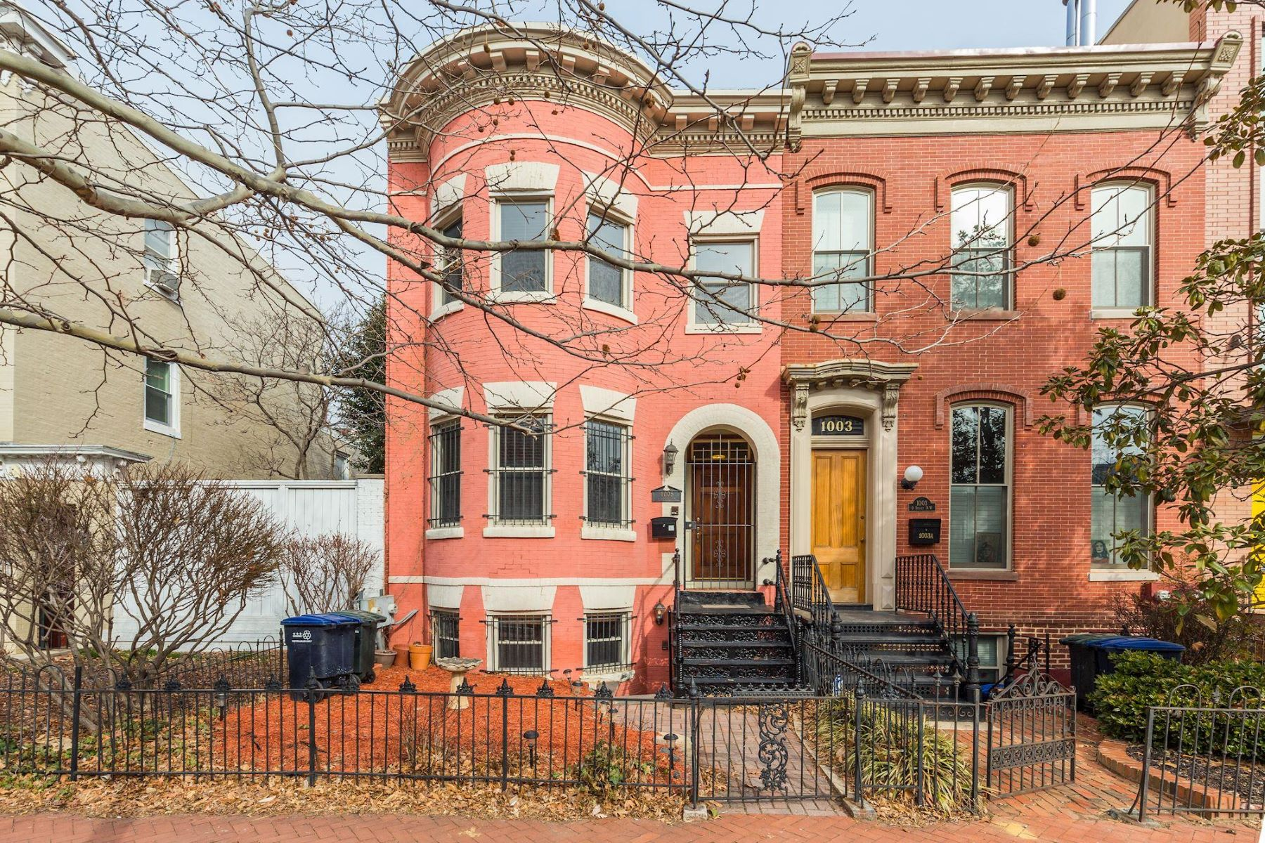 Single Family Home for Sale at 1005 O St Nw Washington, District Of Columbia, 20001 United States