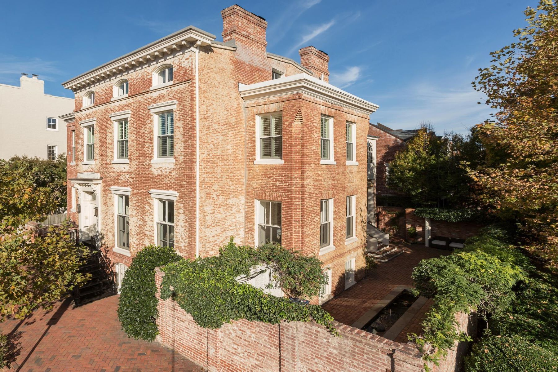 Single Family Home for Sale at Georgetown 1403 30th St Nw Washington, District Of Columbia 20007 United States