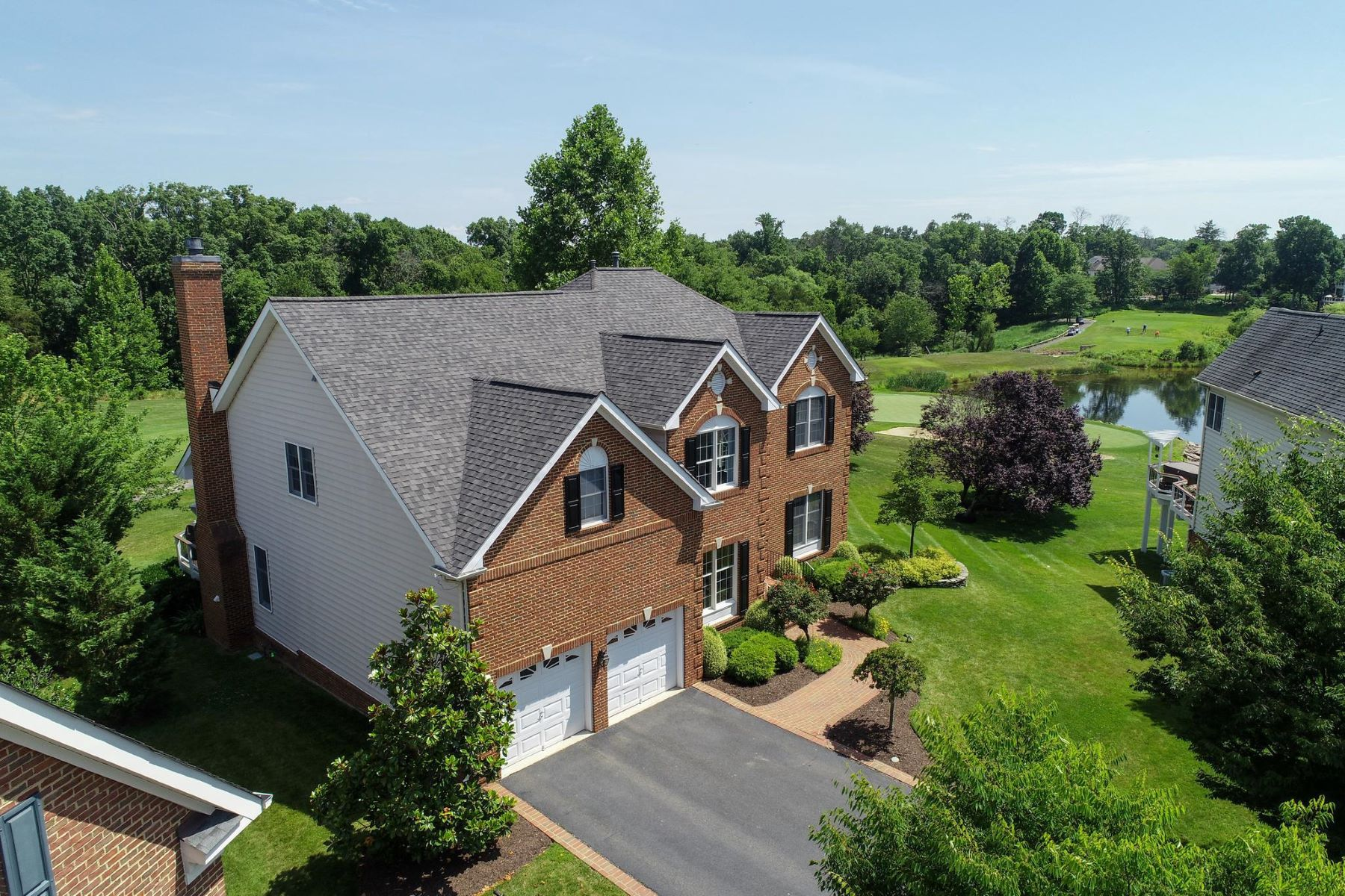 Single Family Homes for Active at 19650 Olympic Club Ct Ashburn, Virginia 20147 United States