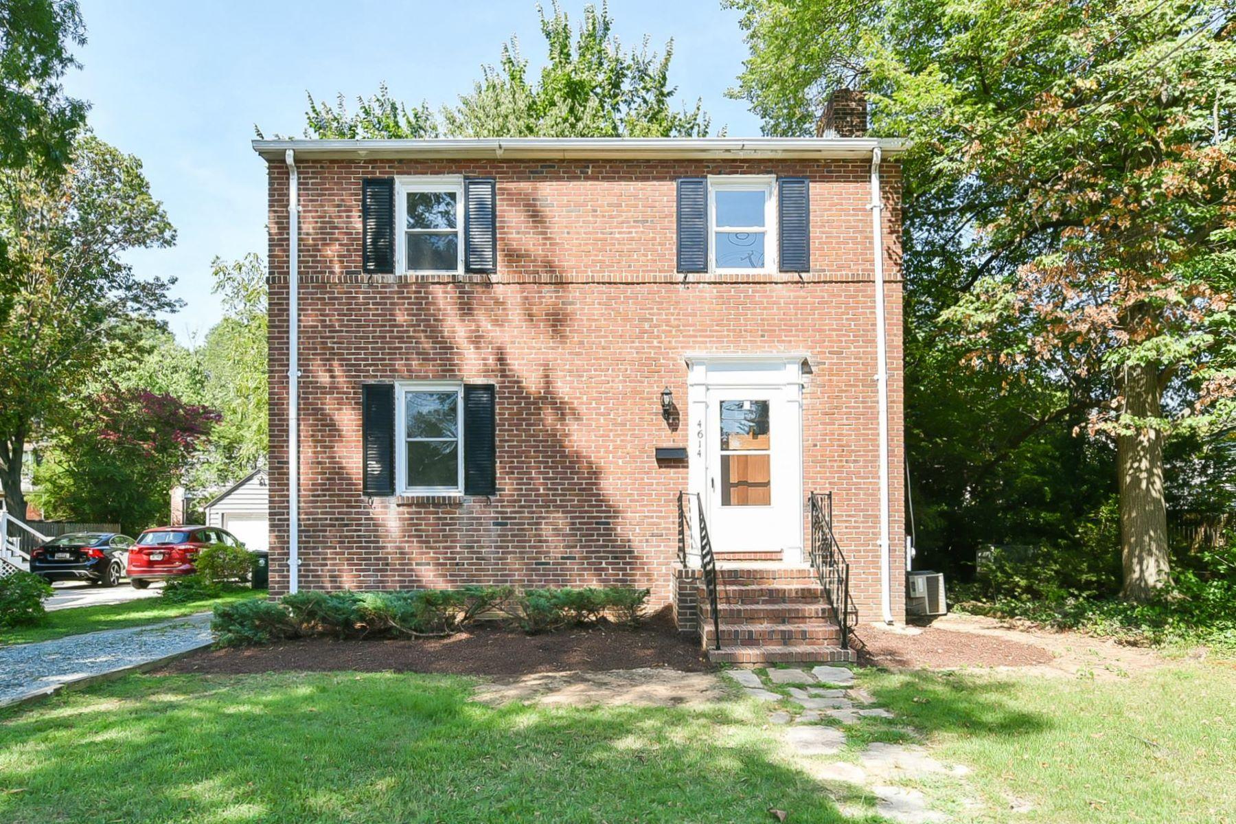 Single Family Homes 为 销售 在 4614 Guilford Rd College Park, 马里兰州 20740 美国