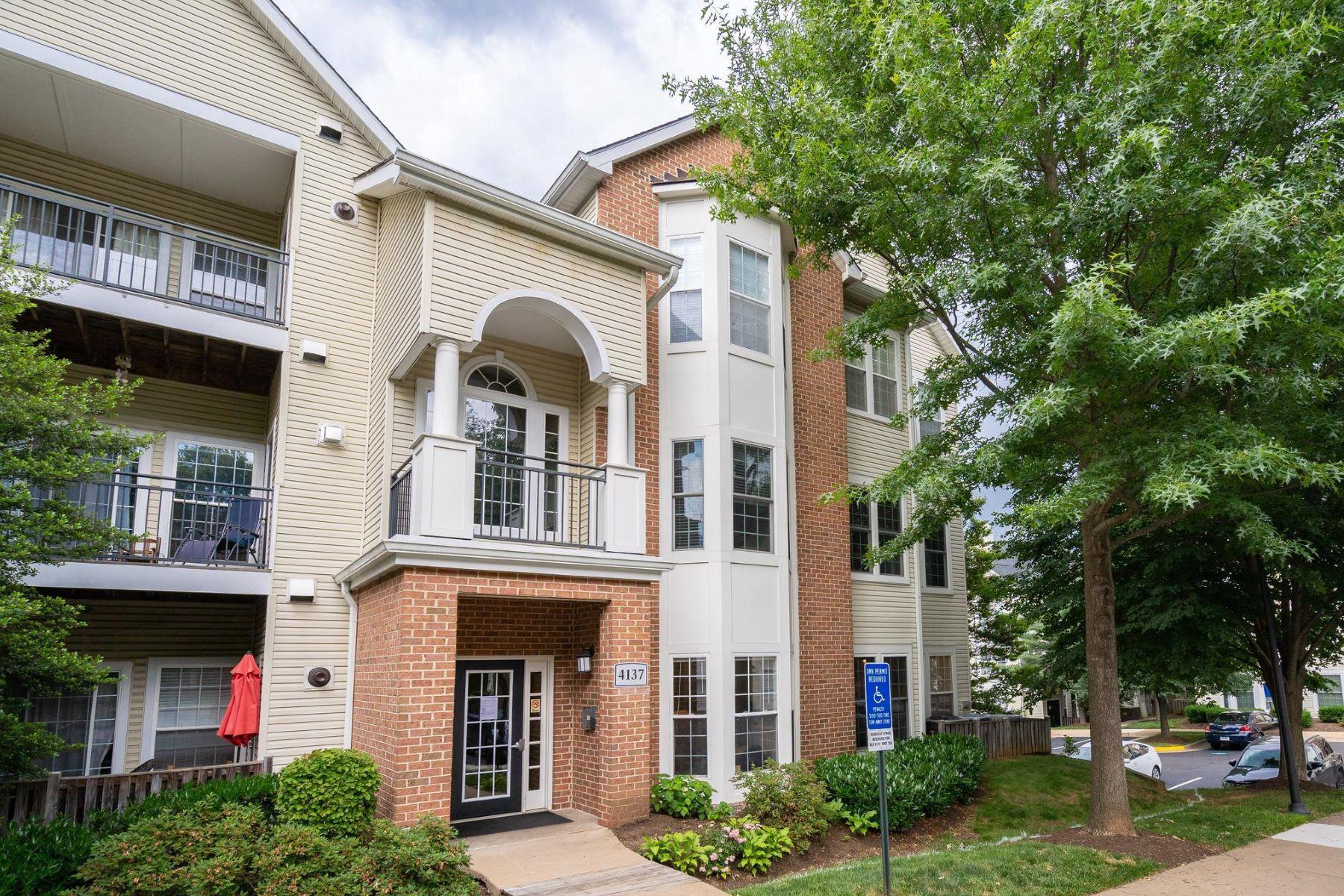 condominiums pour l Vente à 4137 Fountainside Ln #104 Fairfax, Virginia 22030 États-Unis