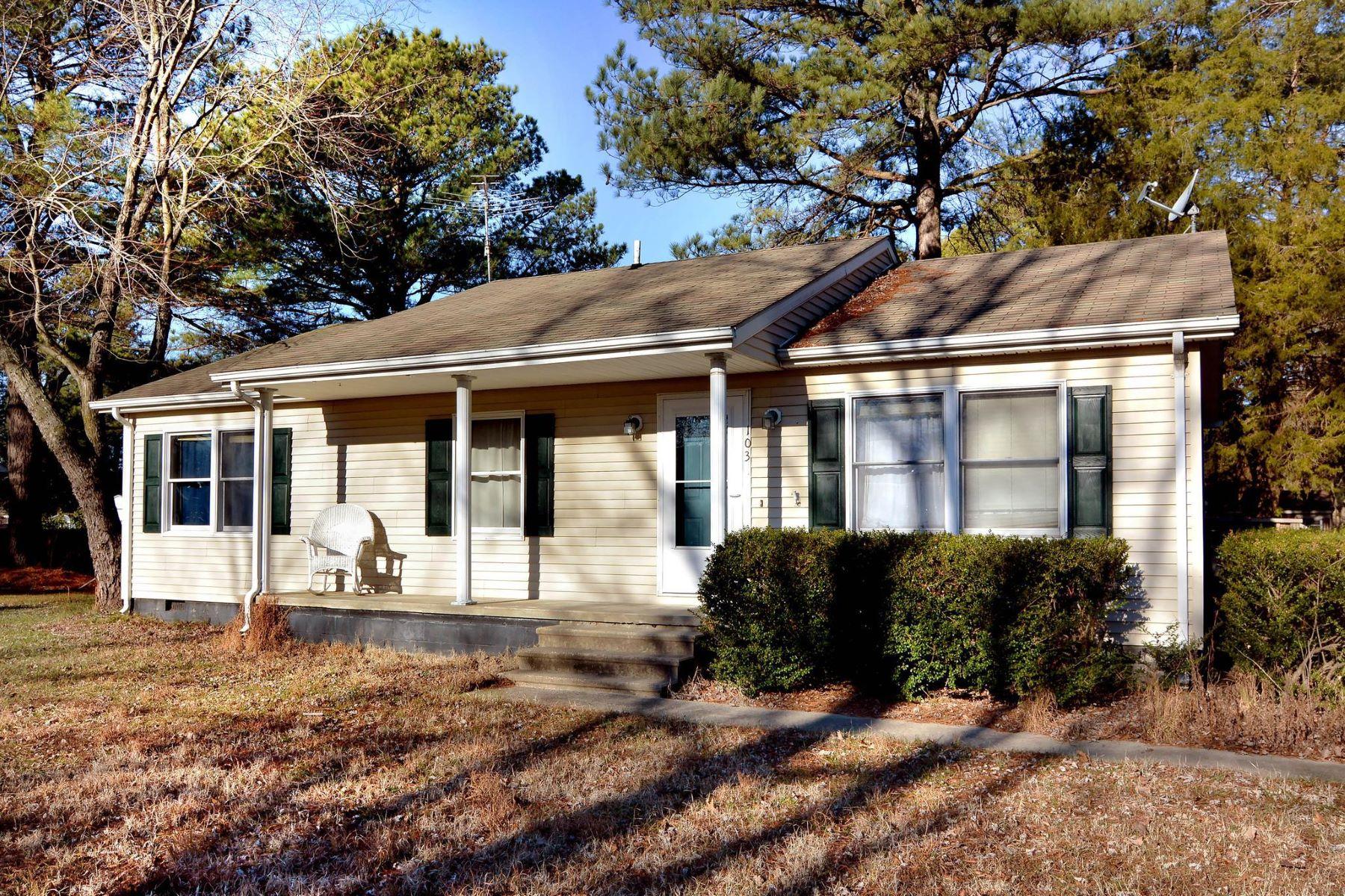 Single Family Homes 为 销售 在 103 Madison Ave 圣麦克, 马里兰州 21663 美国