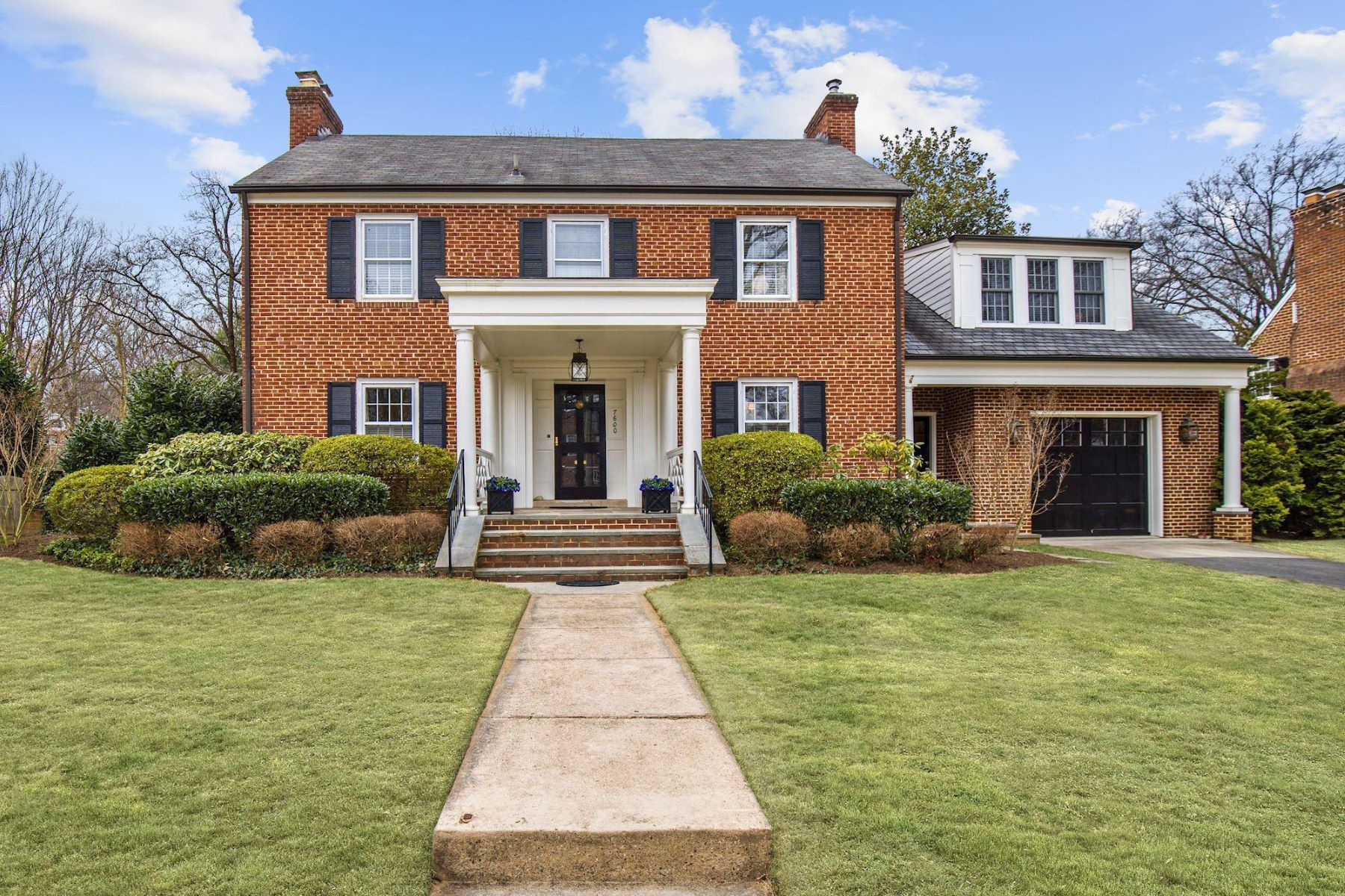 Single Family Homes for Sale at 7600 Glendale Rd Chevy Chase, Maryland 20815 United States