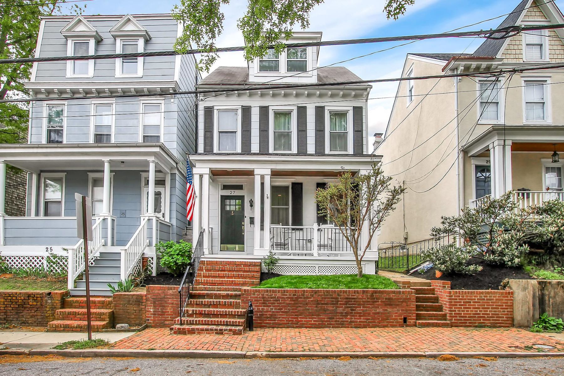 Single Family Homes for Sale at 27 Murray Ave Annapolis, Maryland 21401 United States
