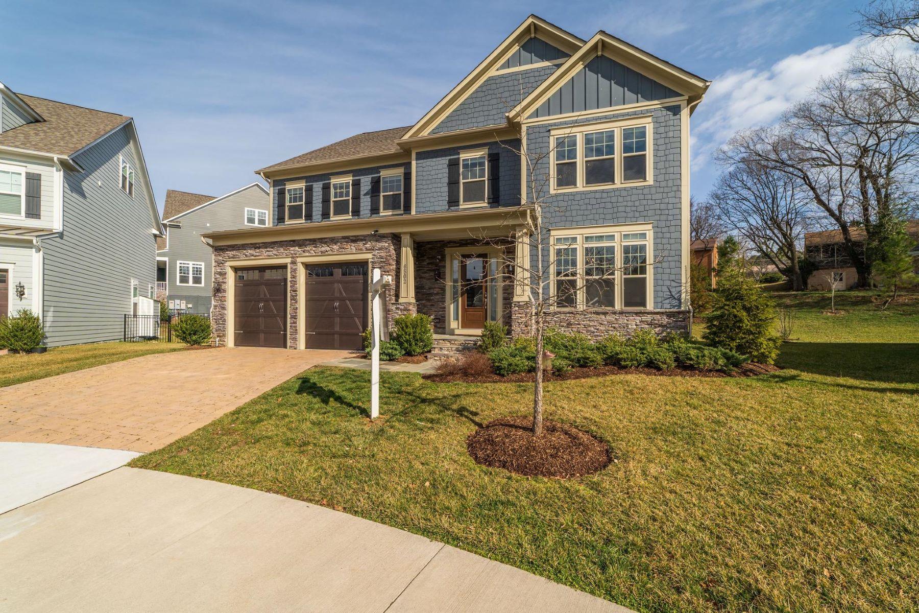 Single Family Homes для того Продажа на Falls Church, Виргиния 22043 Соединенные Штаты