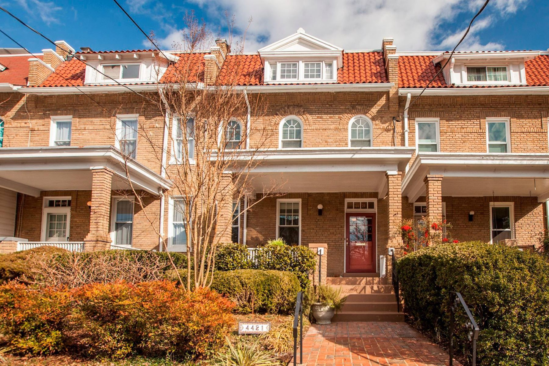 Townhouse for Sale at 4421 17th St NW 4421 17th St NW Washington, District Of Columbia 20011 United States