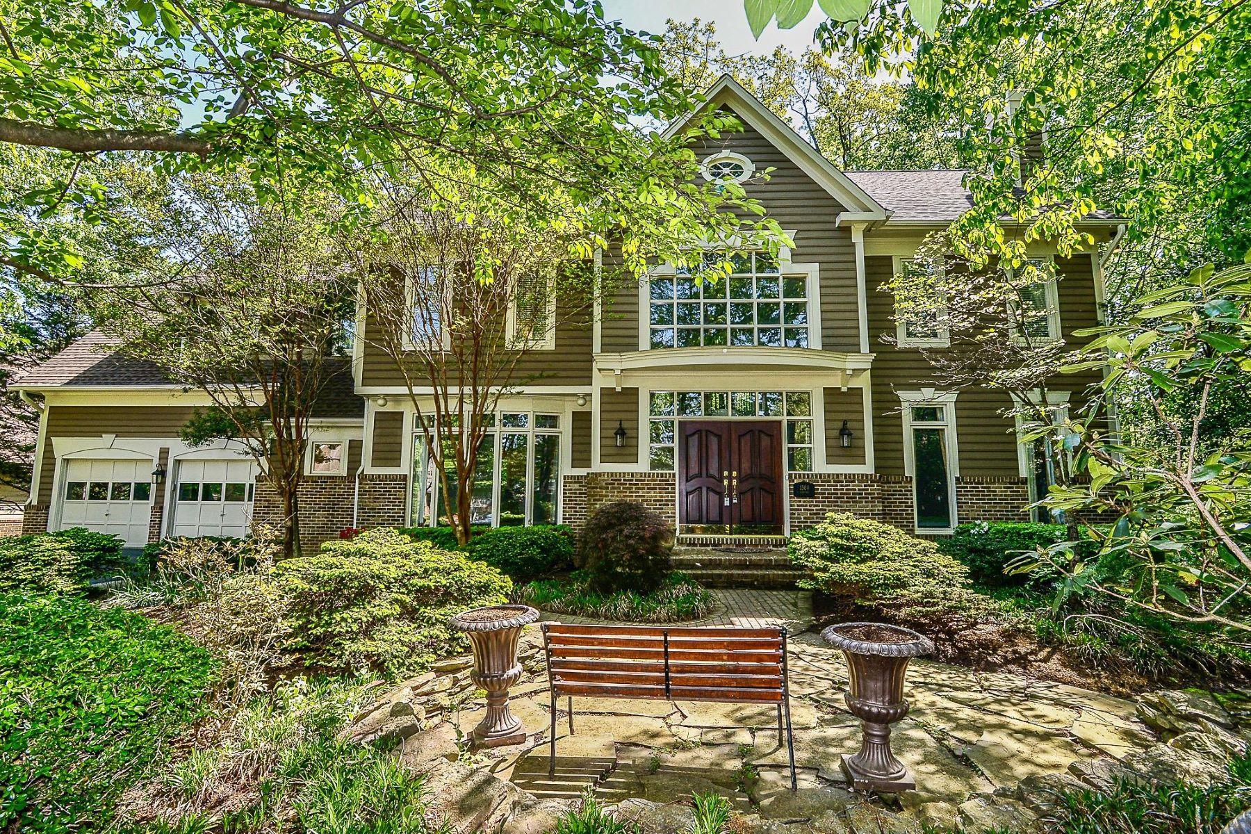 single family homes для того Продажа на 1309 Stamford Way Reston, Виргиния 20194 Соединенные Штаты