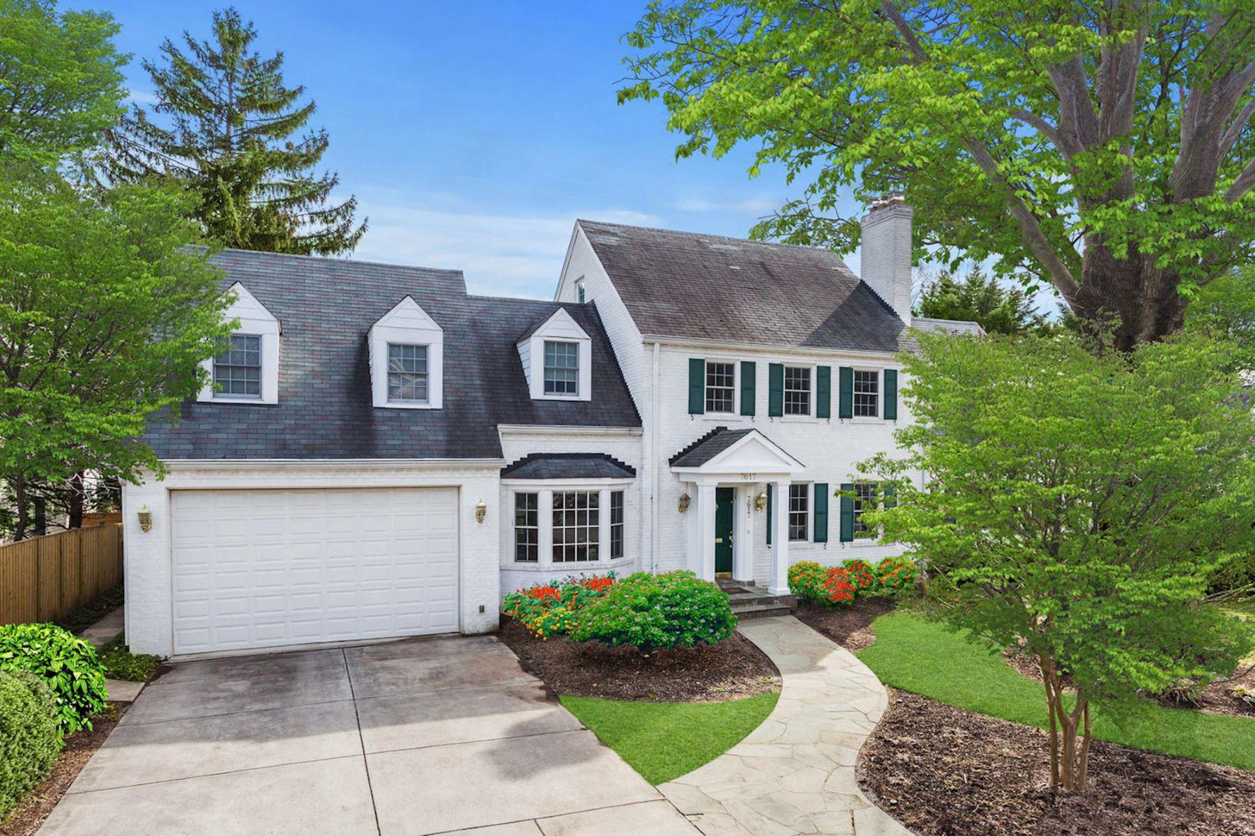 single family homes for Active at 7617 Denton Rd Bethesda, Maryland 20814 United States