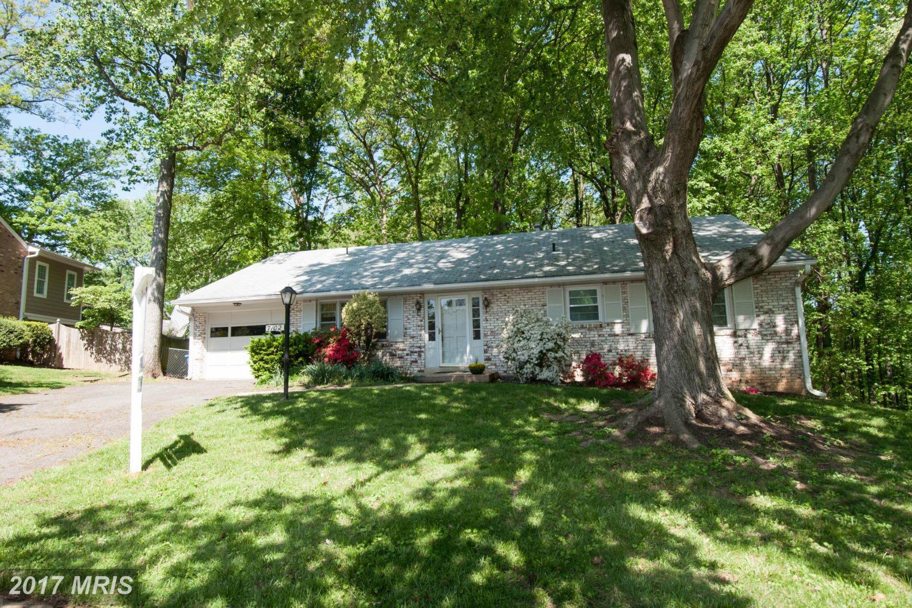 Casa Unifamiliar por un Venta en 7102 Penguin Place, Falls Church Falls Church, Virginia, 22043 Estados Unidos