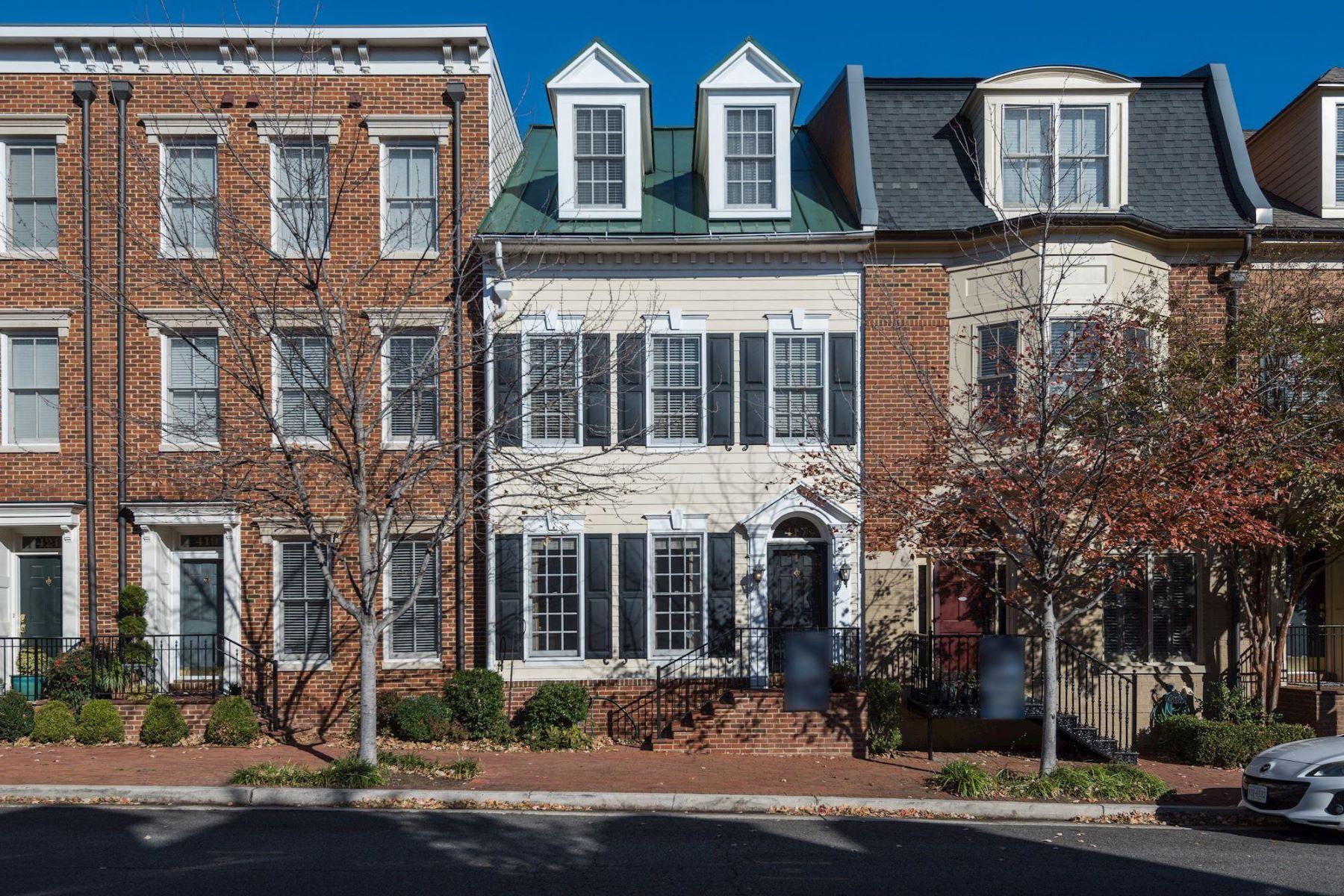 Casa unifamiliar adosada (Townhouse) por un Alquiler en 417 Oronoco St 417 Oronoco St Alexandria, Virginia 22314 Estados Unidos