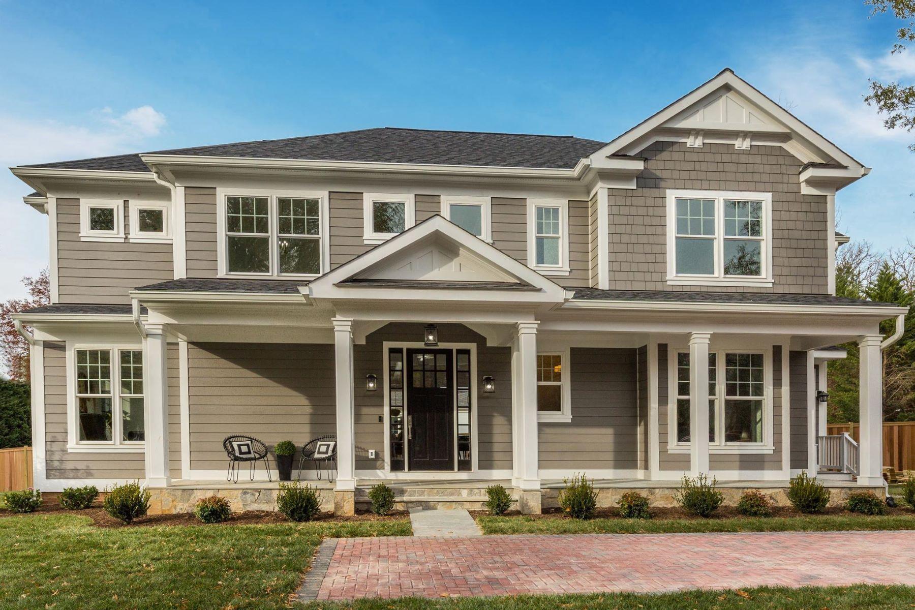 Single Family Homes por un Venta en 3521 Cummings Ln Chevy Chase, Maryland 20815 Estados Unidos