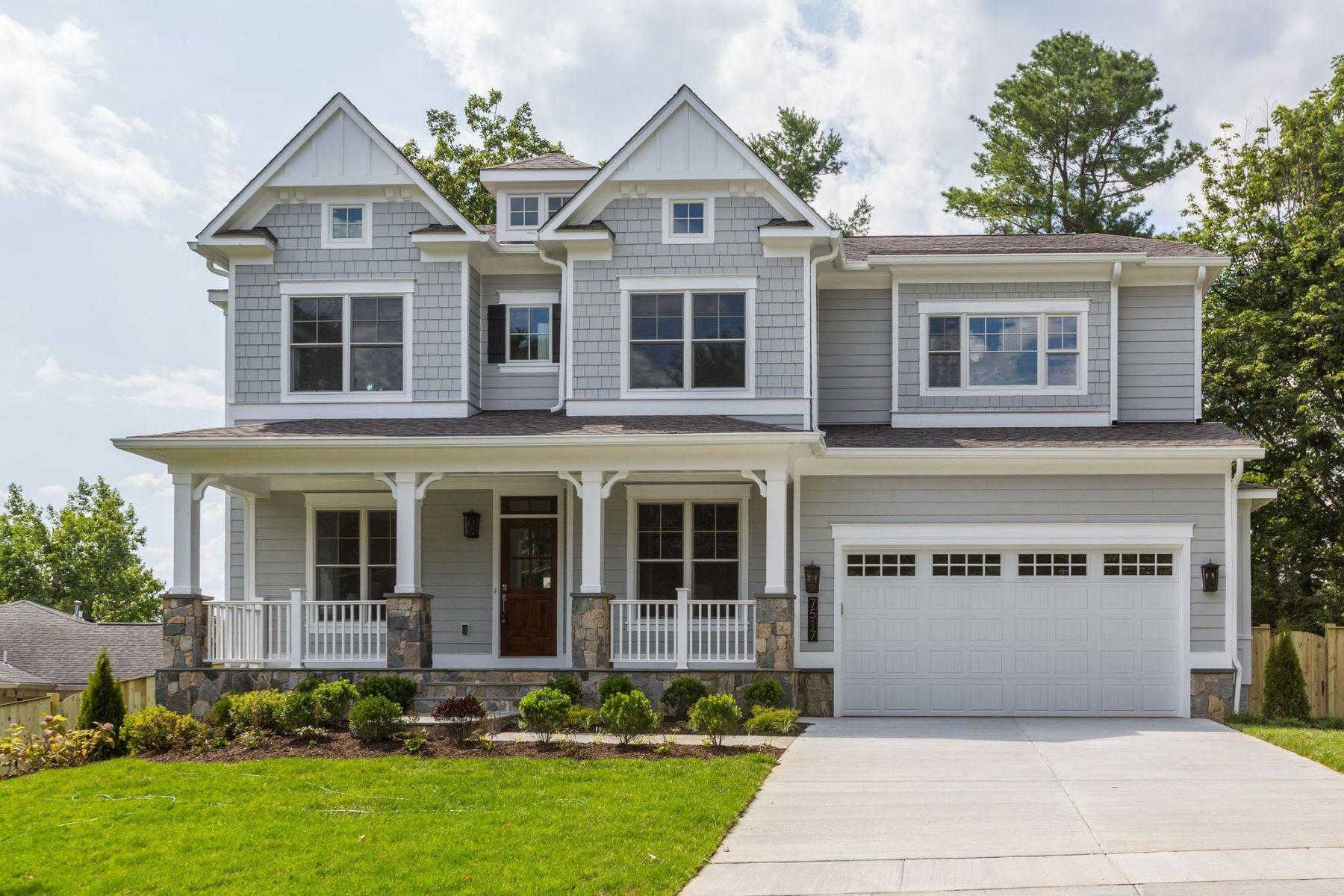 Single Family Homes por un Venta en 7517 Sebago Rd Bethesda, Maryland 20817 Estados Unidos