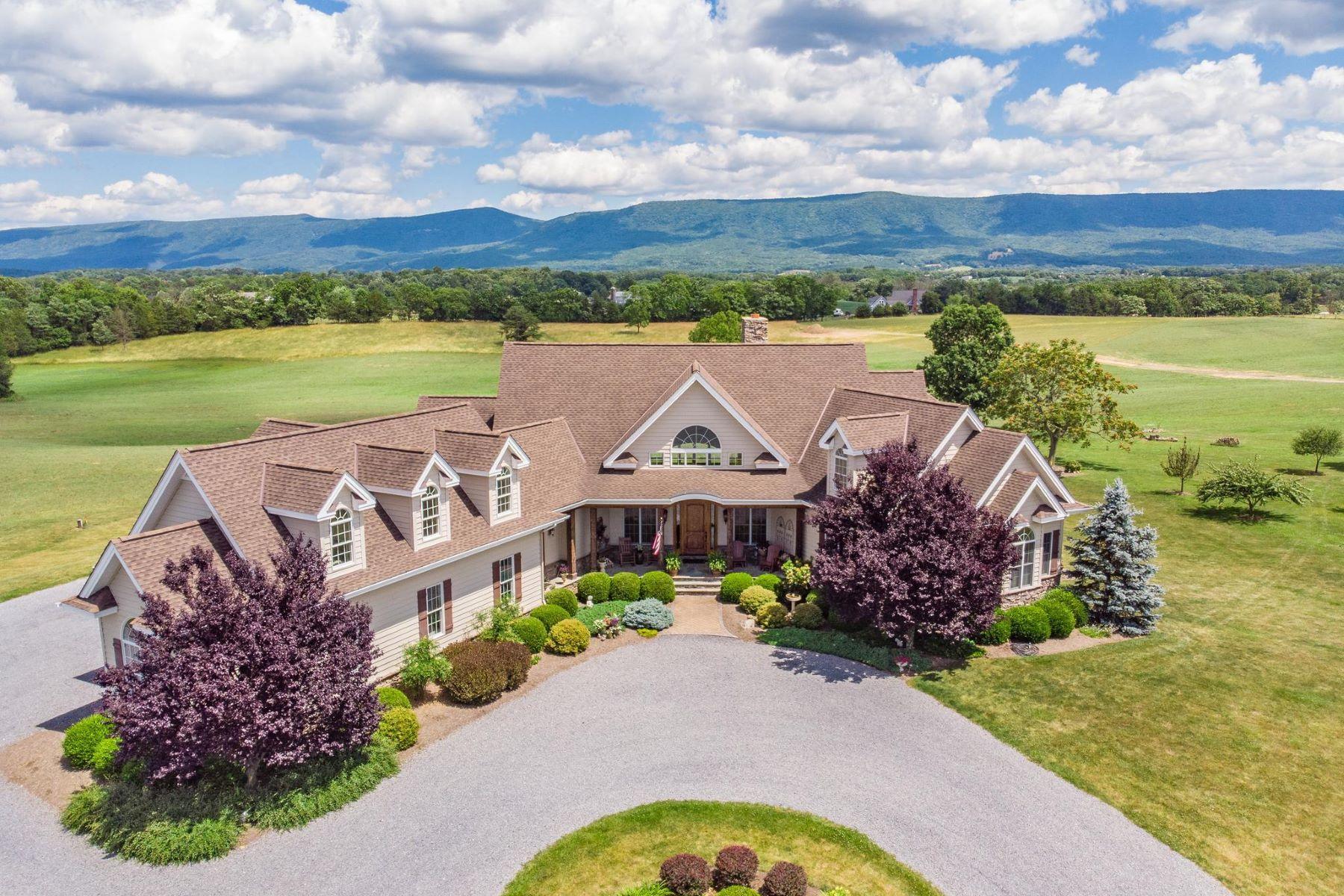 Single Family Homes for Active at 1809 Polk Rd Edinburg, Virginia 22824 United States