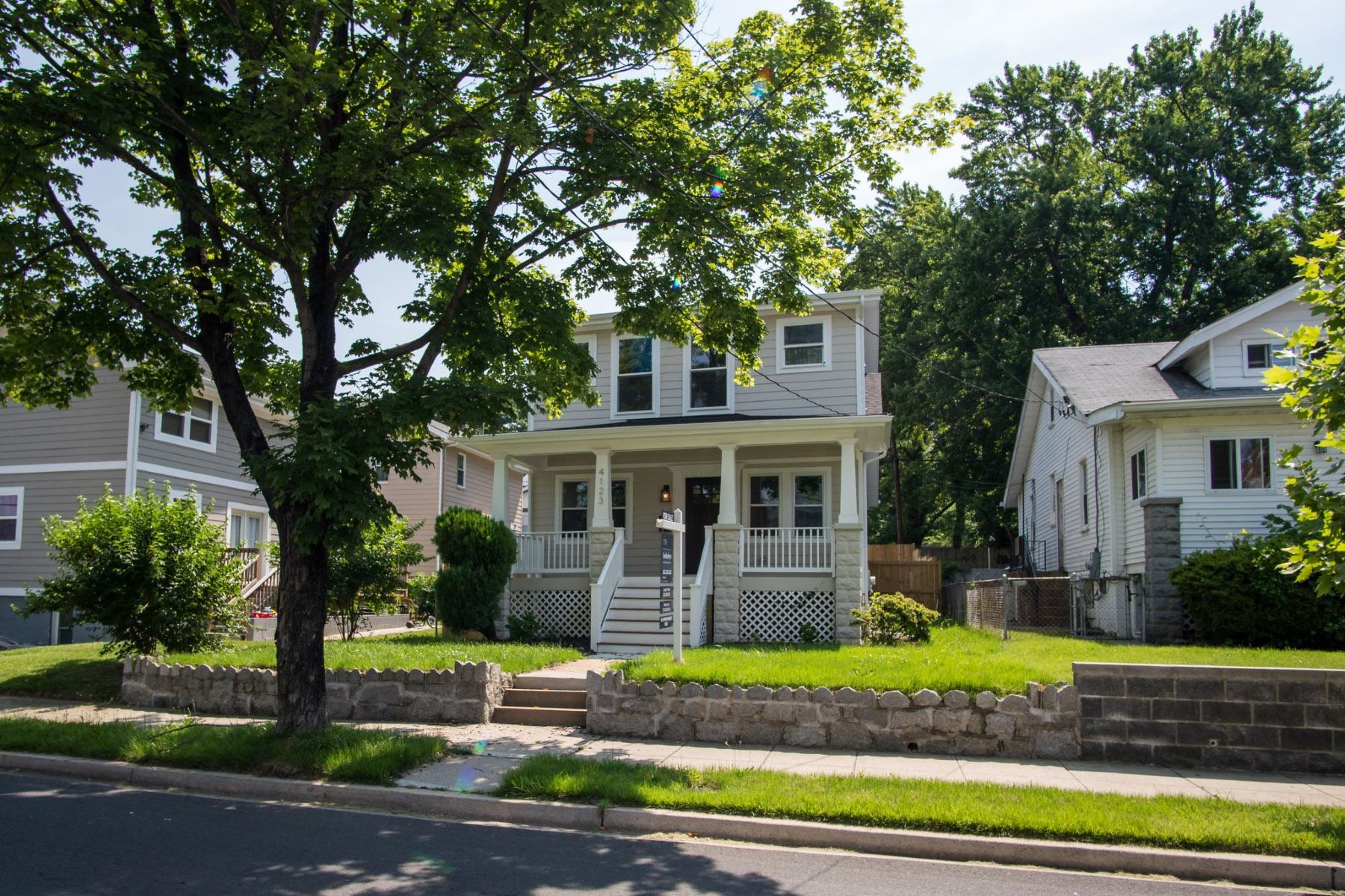 Single Family Home for Sale at 4123 22nd St Ne 4123 22nd St Ne Washington, District Of Columbia 20018 United States