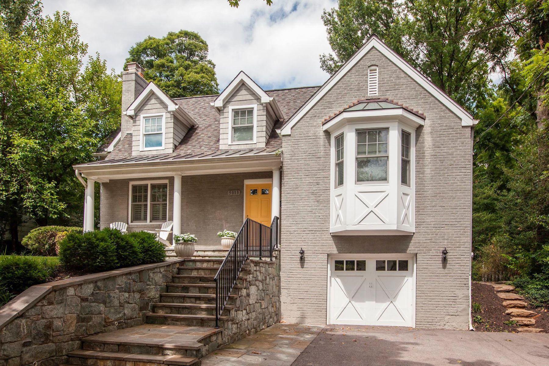 Single Family Homes por un Venta en 5013 Del Ray Ave Bethesda, Maryland 20814 Estados Unidos