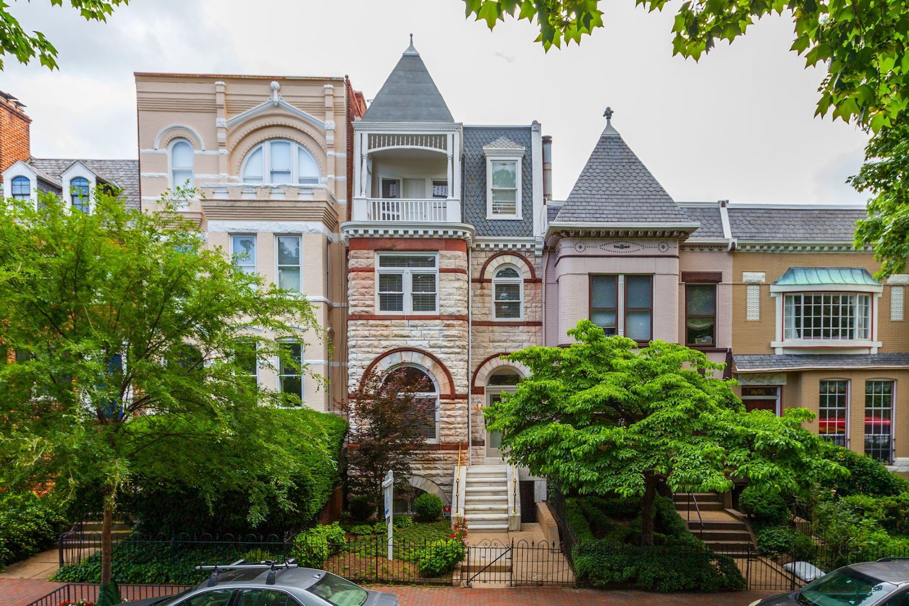 Townhouse for Sale at 1609 35th St NW 1609 35th St NW Washington, District Of Columbia 20007 United States