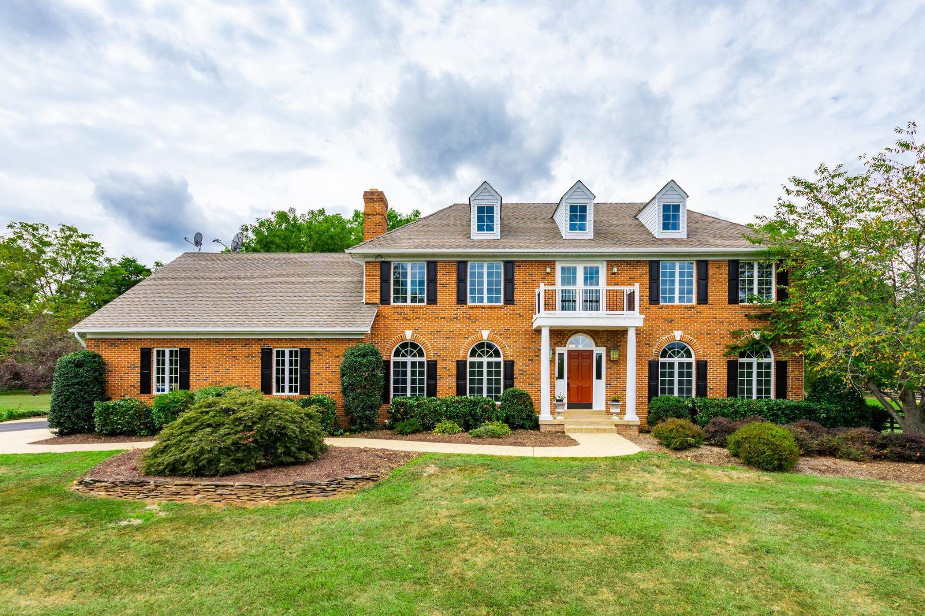 Single Family Homes для того Продажа на 6206 Covey Rd Warrenton, Виргиния 20187 Соединенные Штаты