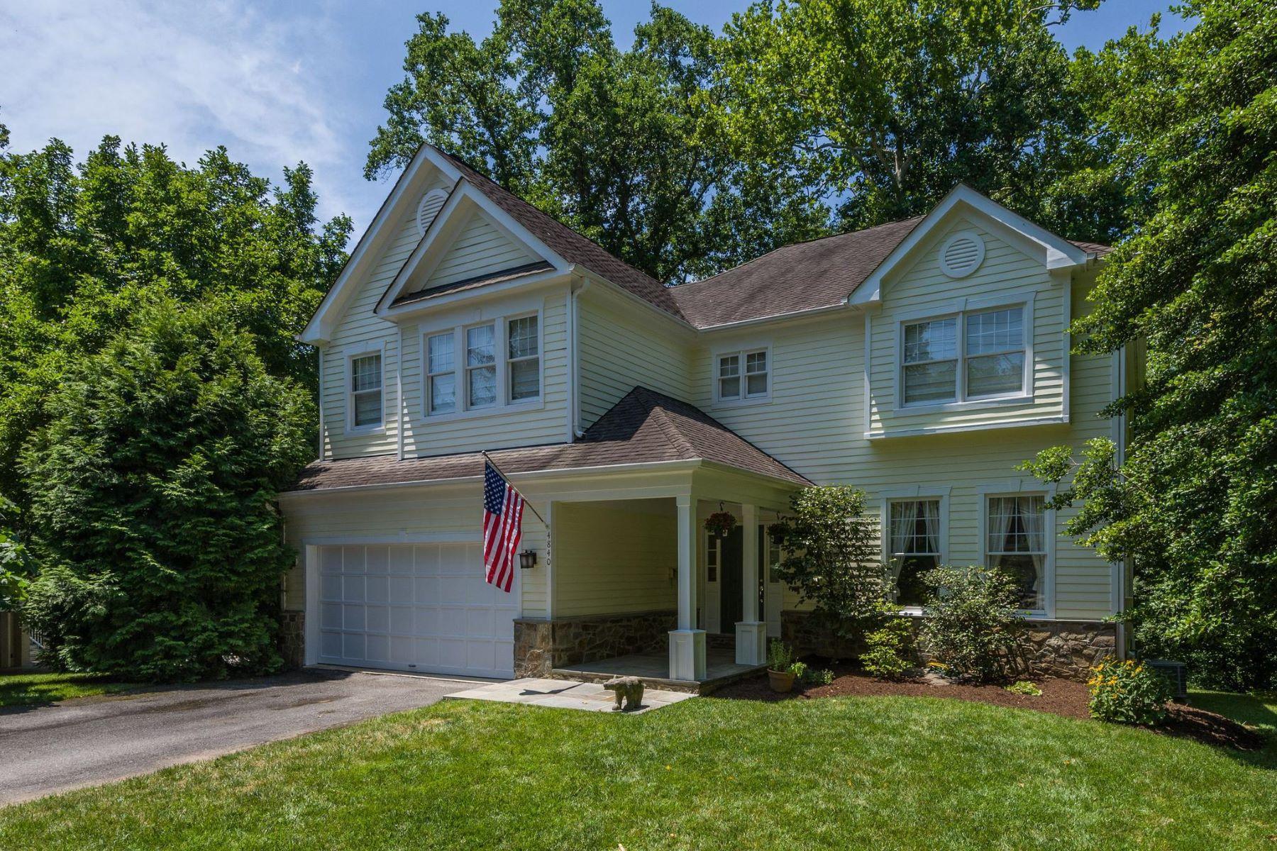 Single Family Homes por un Venta en 4840 Chevy Chase Blvd Chevy Chase, Maryland 20815 Estados Unidos