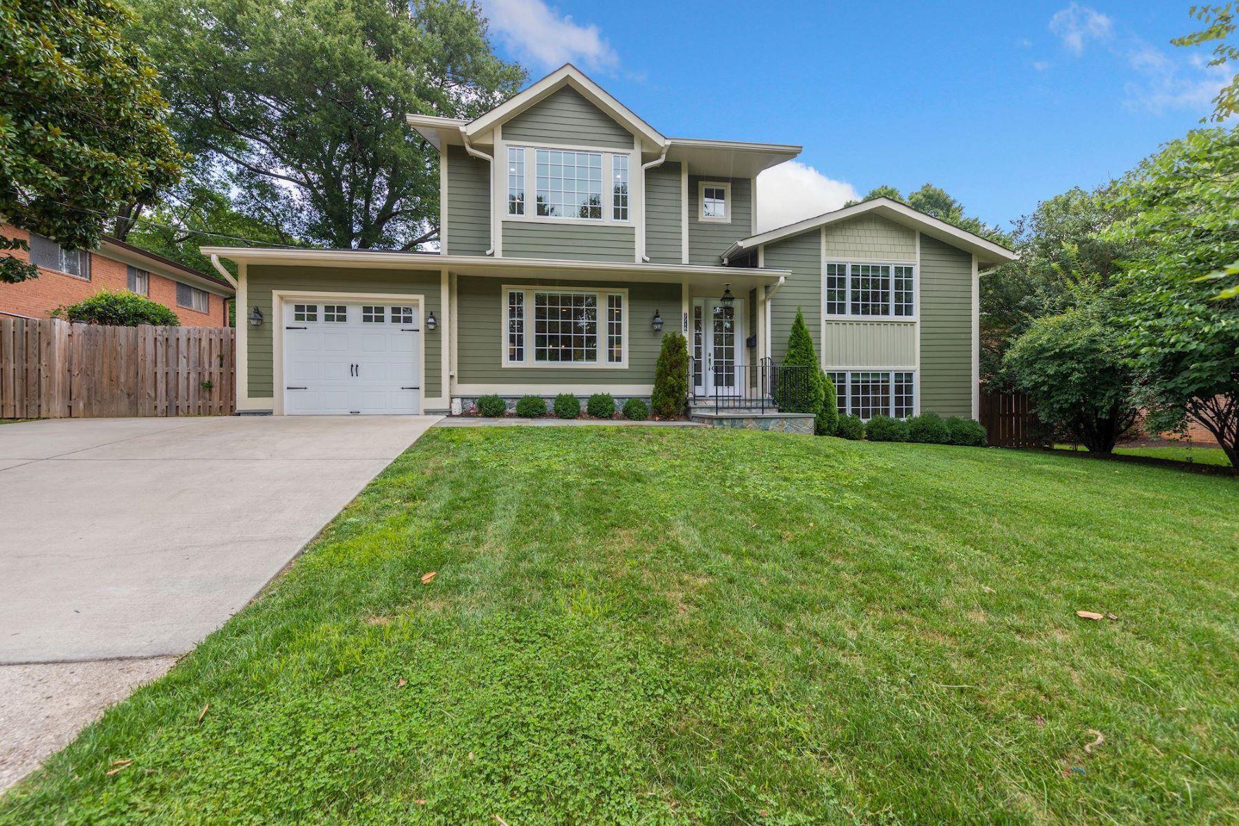 Single Family Homes por un Venta en 7716 Rocton Ave Chevy Chase, Maryland 20815 Estados Unidos