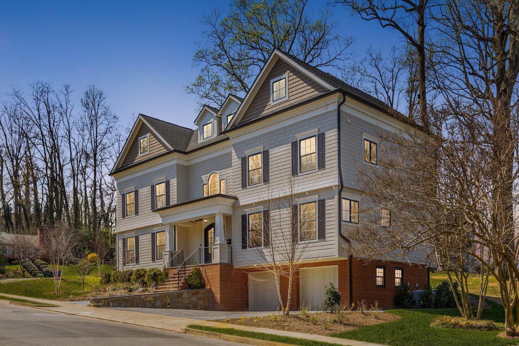 Single Family Homes для того Продажа на 2779 N Wakefield St Arlington, Виргиния 22207 Соединенные Штаты