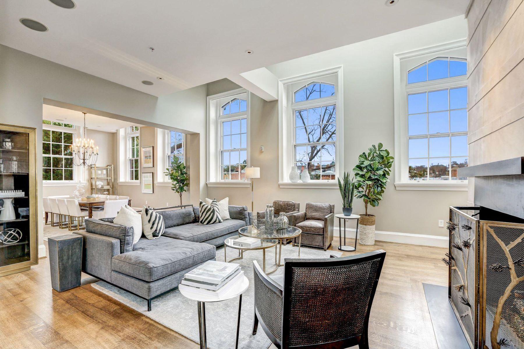 Condominiums 为 销售 在 3329 Prospect St Nw ##penthouse 6 3329 Prospect St Nw #penthouse 6 华盛顿市, 哥伦比亚特区 20007 美国