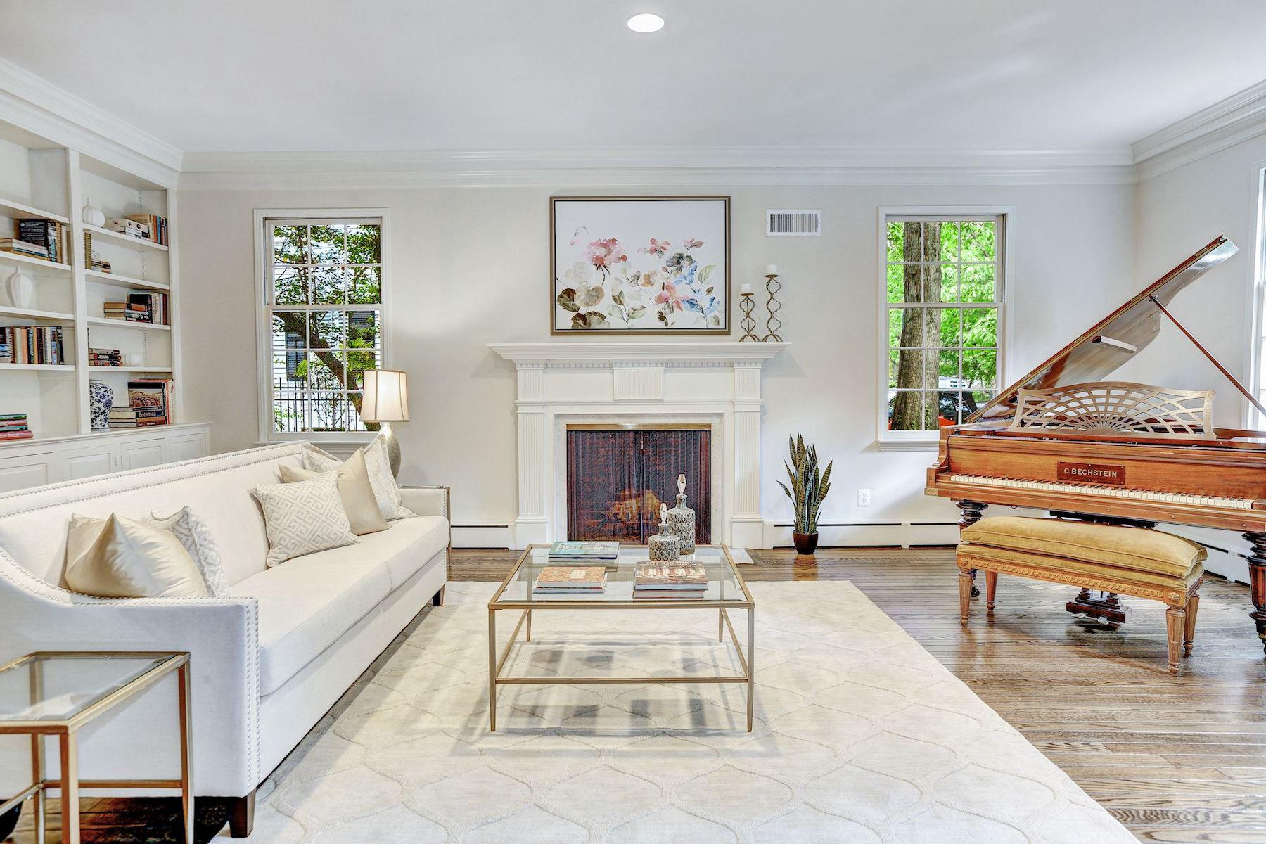 single family homes for Active at 7 E Kirke St Chevy Chase, Maryland 20815 United States