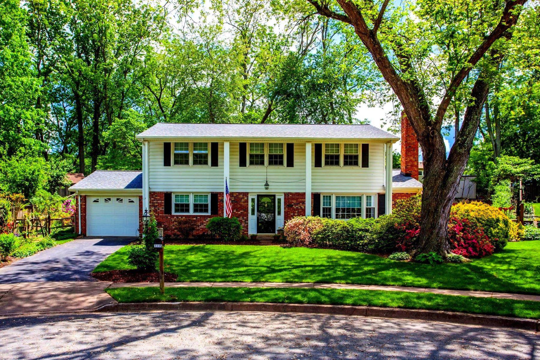 Single Family Homes pour l Vente à 7115 Bird Dog Ct Springfield, Virginia 22153 États-Unis