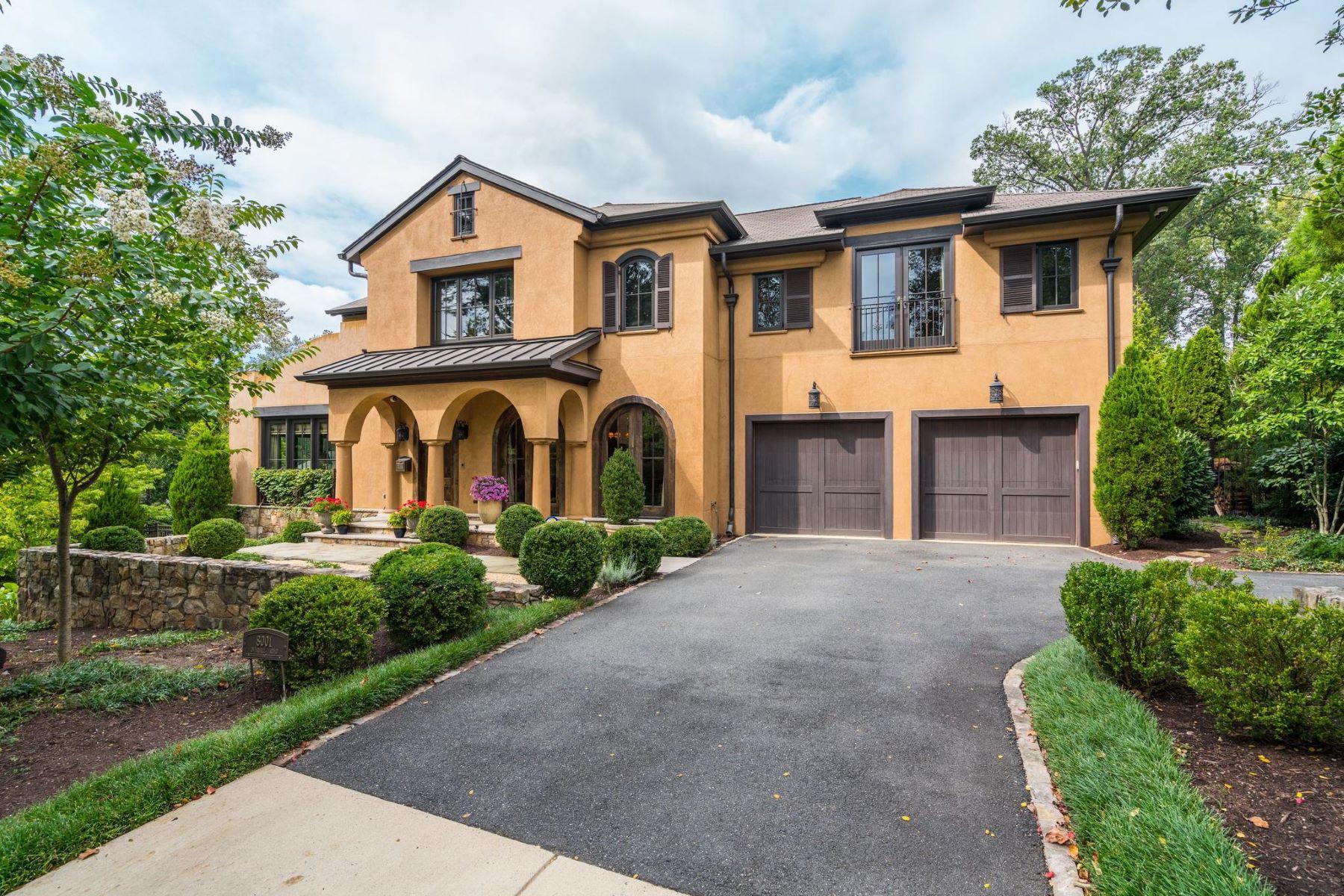 Single Family Homes por un Venta en Bethesda, Maryland 20814 Estados Unidos