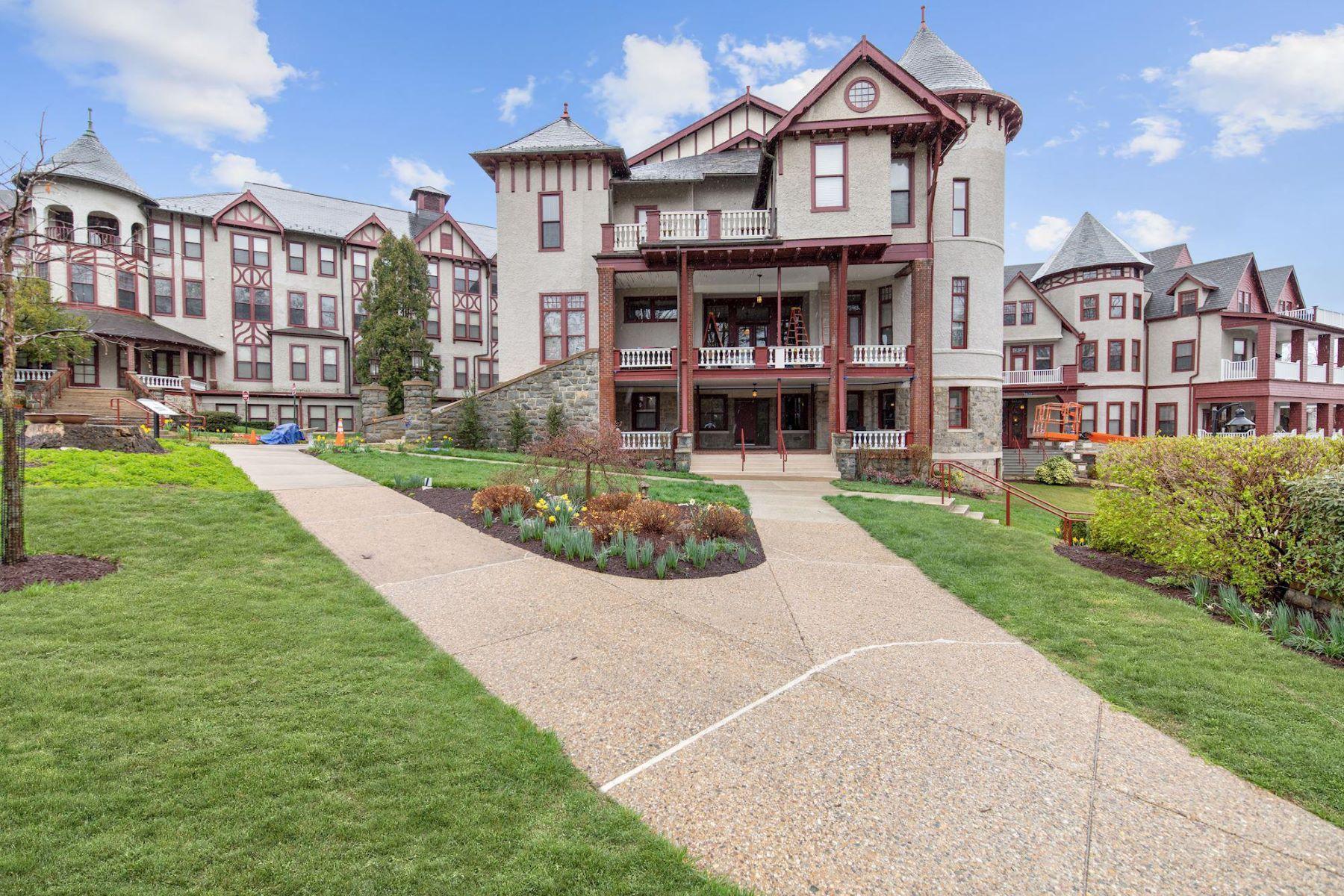 Condominiums por un Venta en 9610 Dewitt Dr #ph412 Silver Spring, Maryland 20910 Estados Unidos