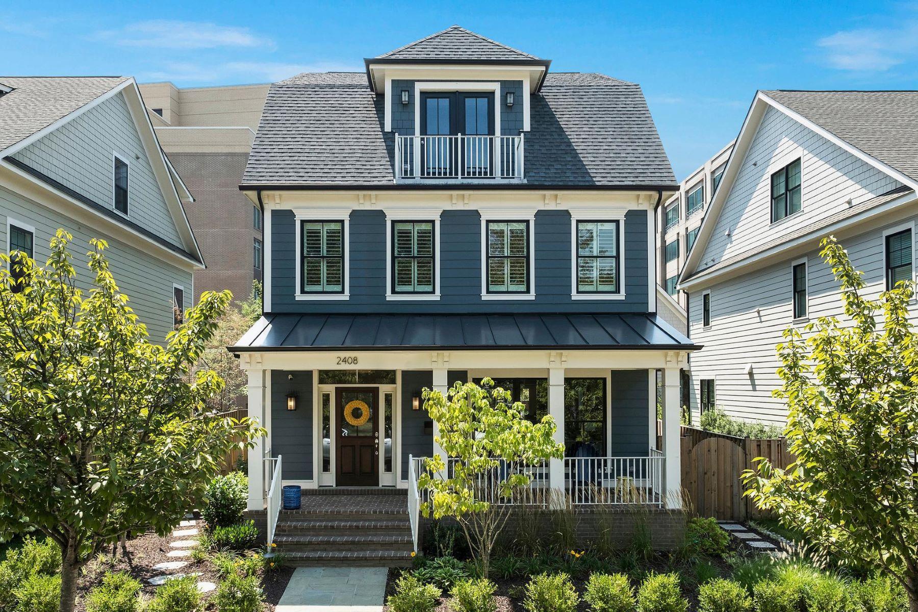 Single Family Homes для того Продажа на 2408 16th St N Arlington, Виргиния 22201 Соединенные Штаты