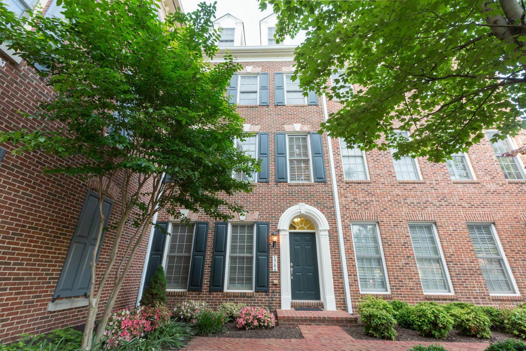 タウンハウス のために 賃貸 アット 1746 Potomac Greens Dr 1746 Potomac Greens Dr Alexandria, バージニア 22314 アメリカ合衆国