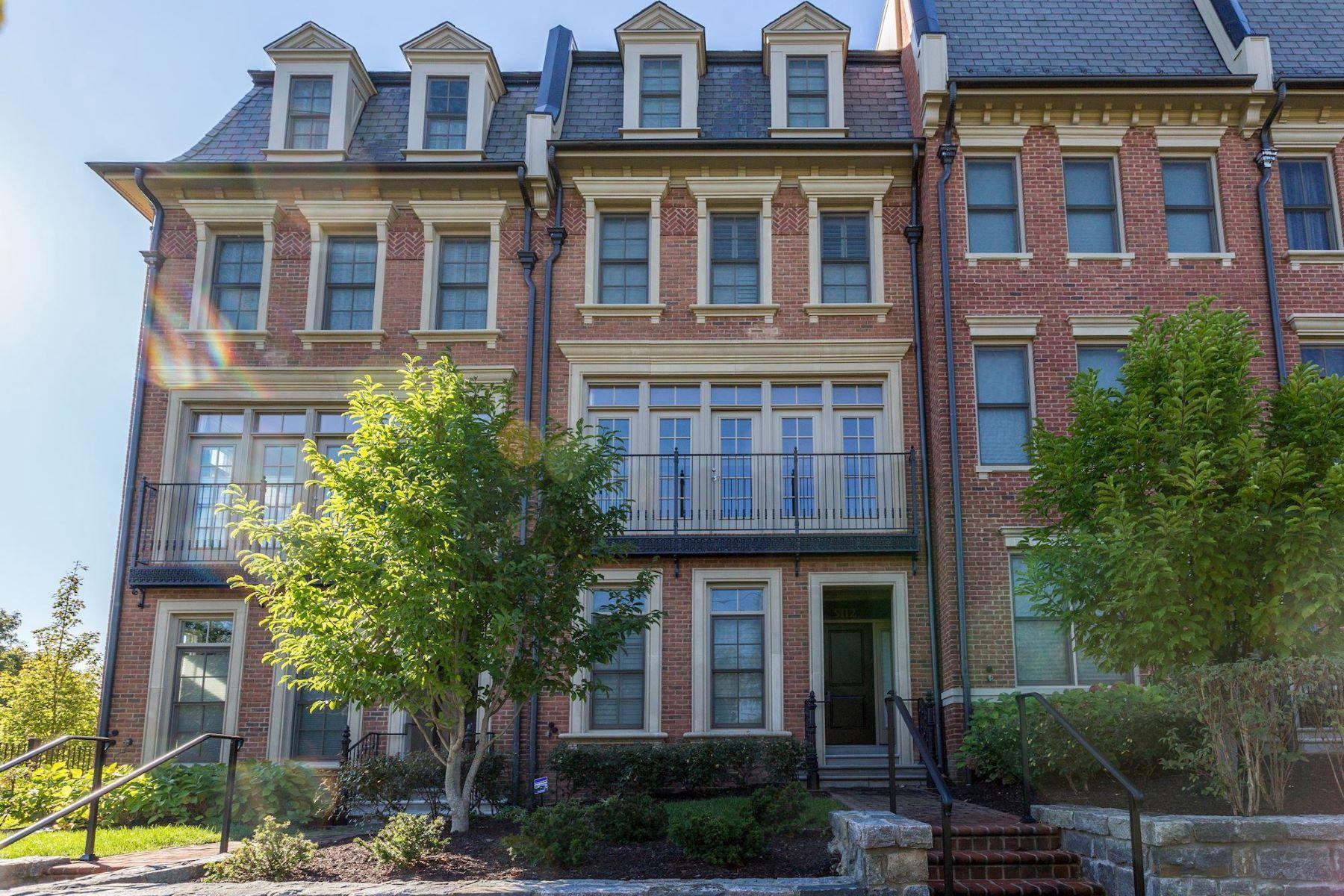 townhouses 为 销售 在 5112 Strathmore Ave 北贝塞斯达, 马里兰州 20852 美国