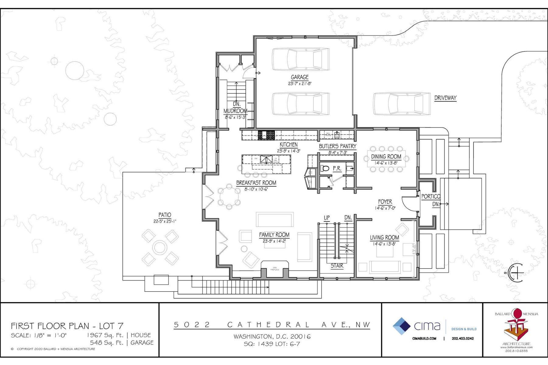 Single Family Homes por un Venta en 5022 1/2 Cathedral Ave Nw Washington, Distrito De Columbia 20016 Estados Unidos