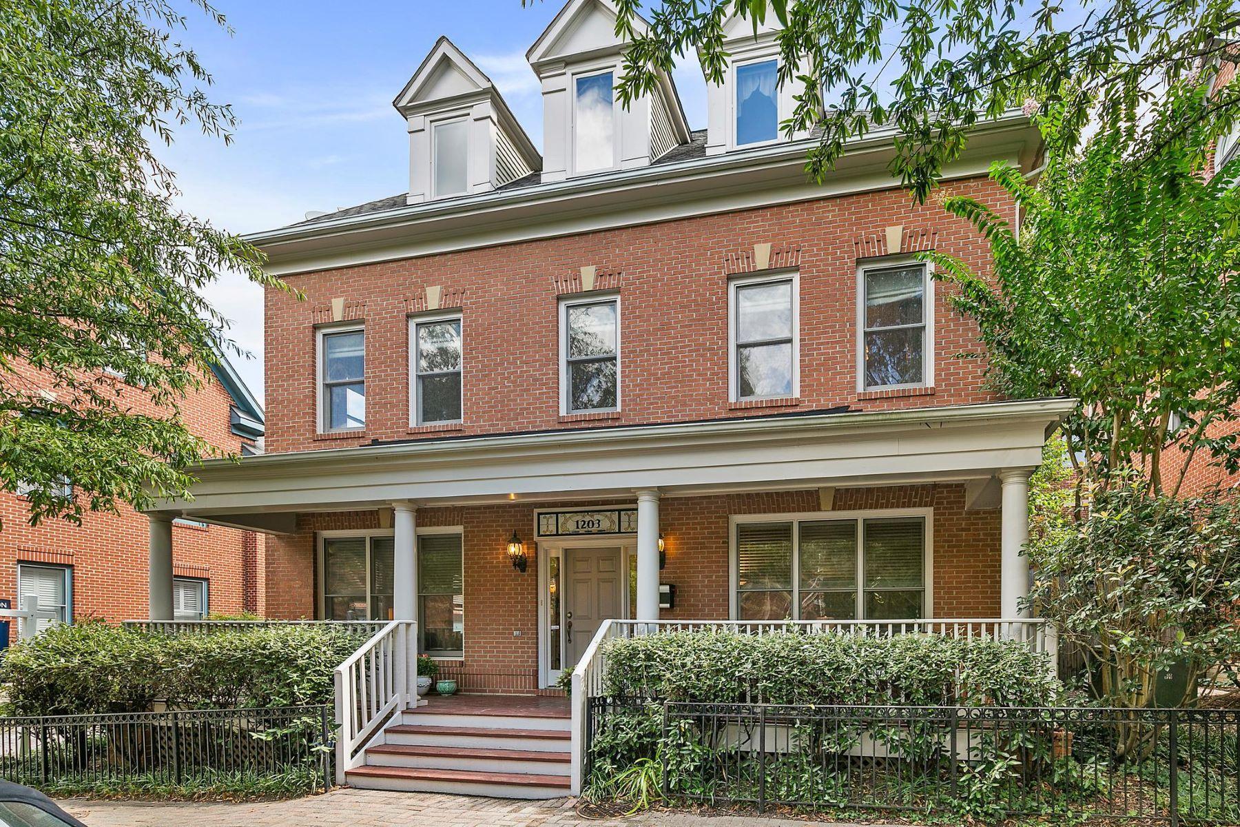Single Family Homes for Active at 1203 N Johnson St Arlington, Virginia 22201 United States