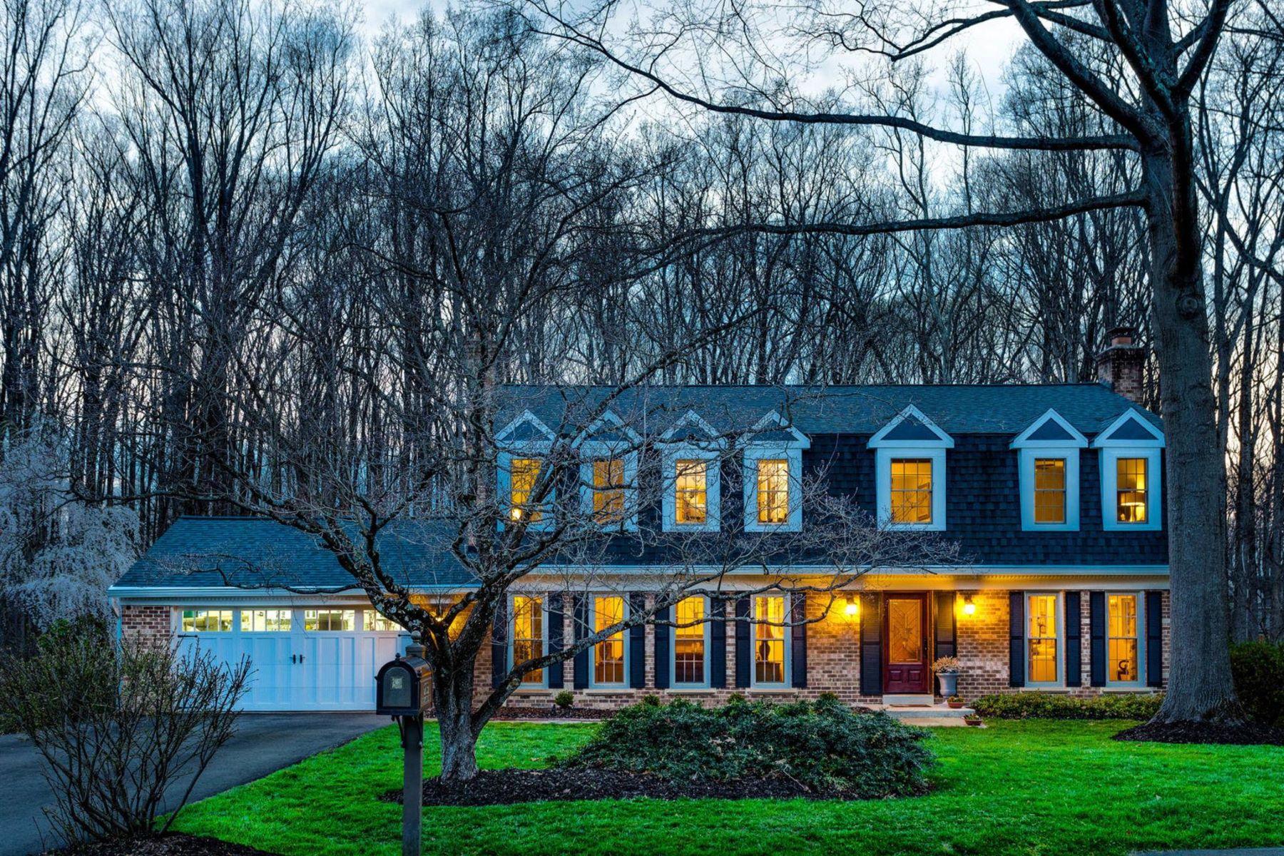 Частный односемейный дом для того Продажа на 2032 Adams Hill Rd Vienna, Виргиния 22182 Соединенные Штаты