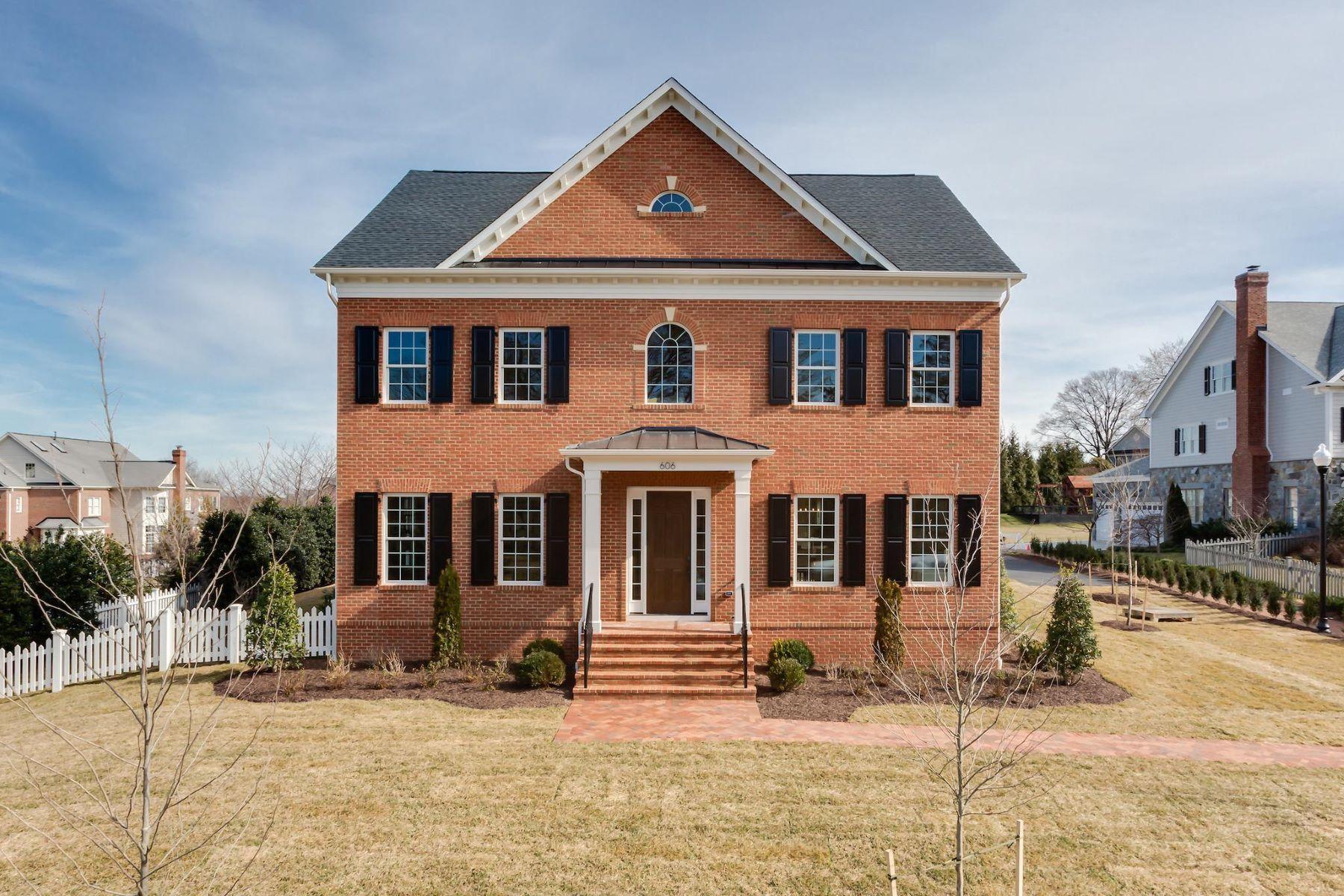 single family homes pour l Vente à 606 President Ford Ln Alexandria, Virginia 22302 États-Unis