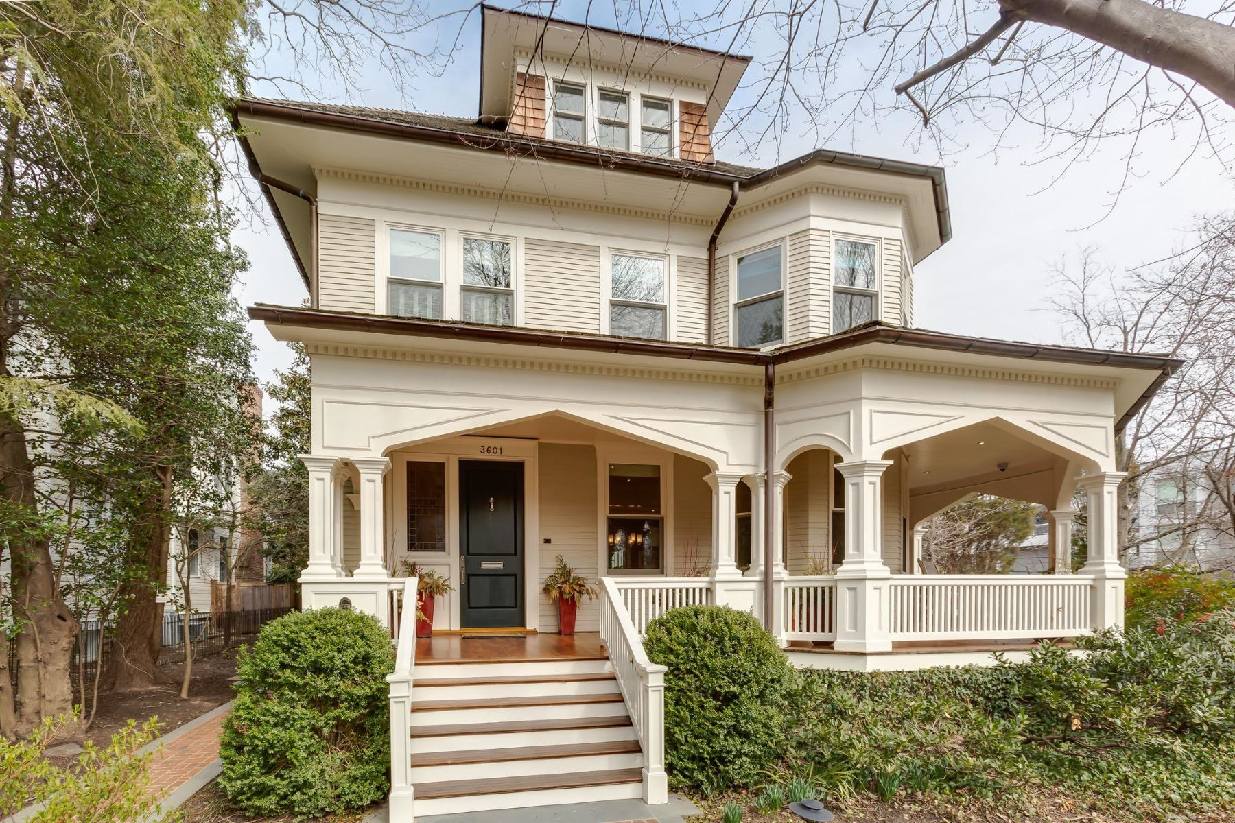 Single Family Home for Sale at 3601 Newark St NW Washington, District Of Columbia 20016 United States