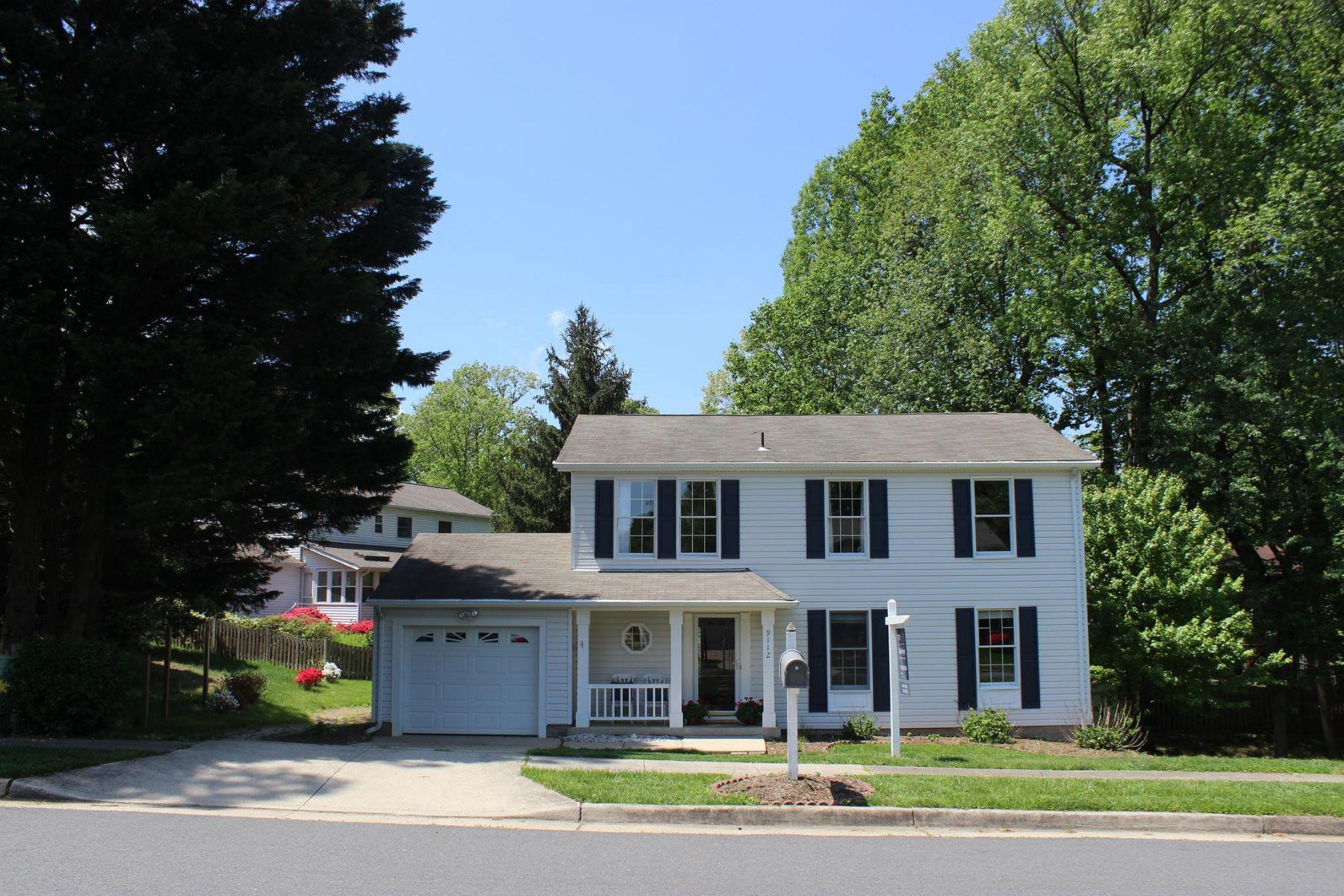 single family homes для того Продажа на 9112 Huber Ct Burke, Виргиния 22015 Соединенные Штаты