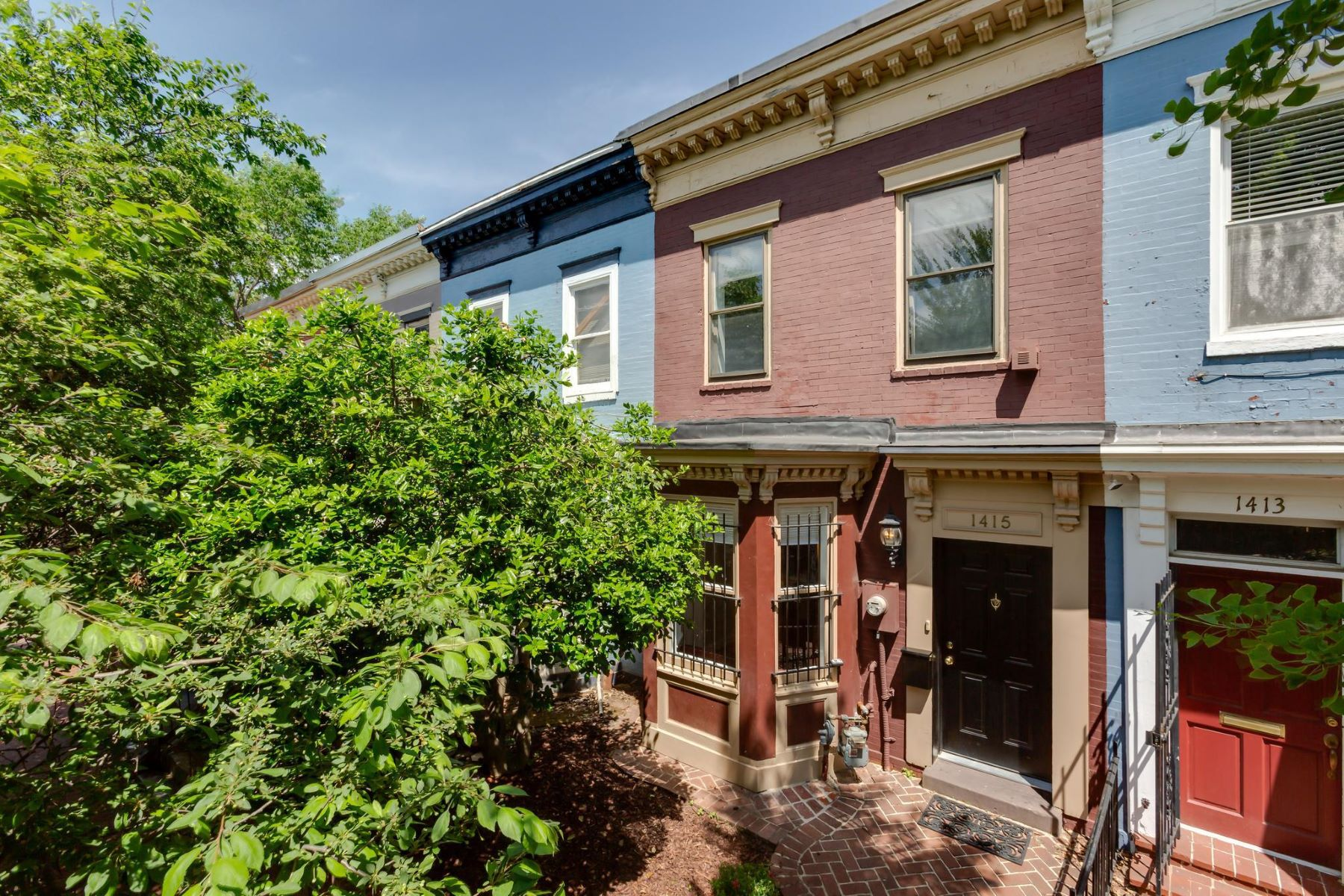 Townhouse for Sale at 1415 Columbia St NW Washington, District Of Columbia 20001 United States
