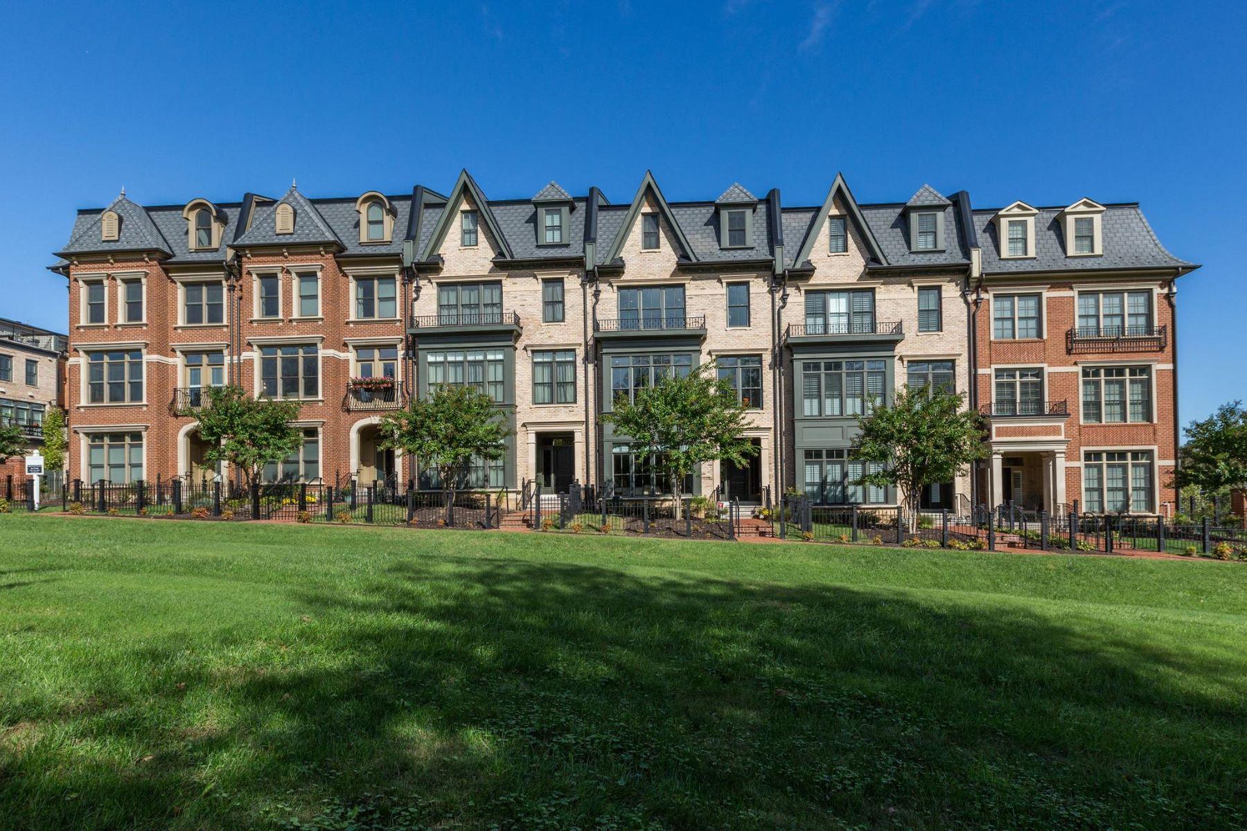 townhouses 为 销售 在 10819 Symphony Park Dr 北贝塞斯达, 马里兰州 20852 美国