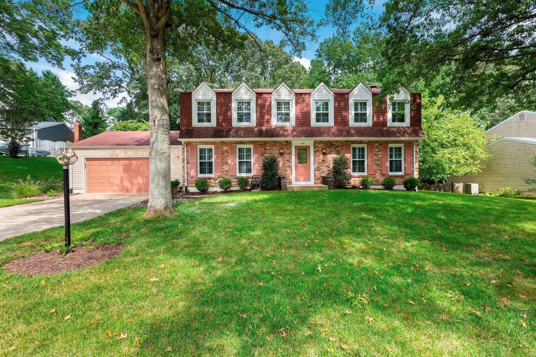 Single Family Homes por un Venta en 385 Yorkshire Ln Riva, Maryland 21140 Estados Unidos