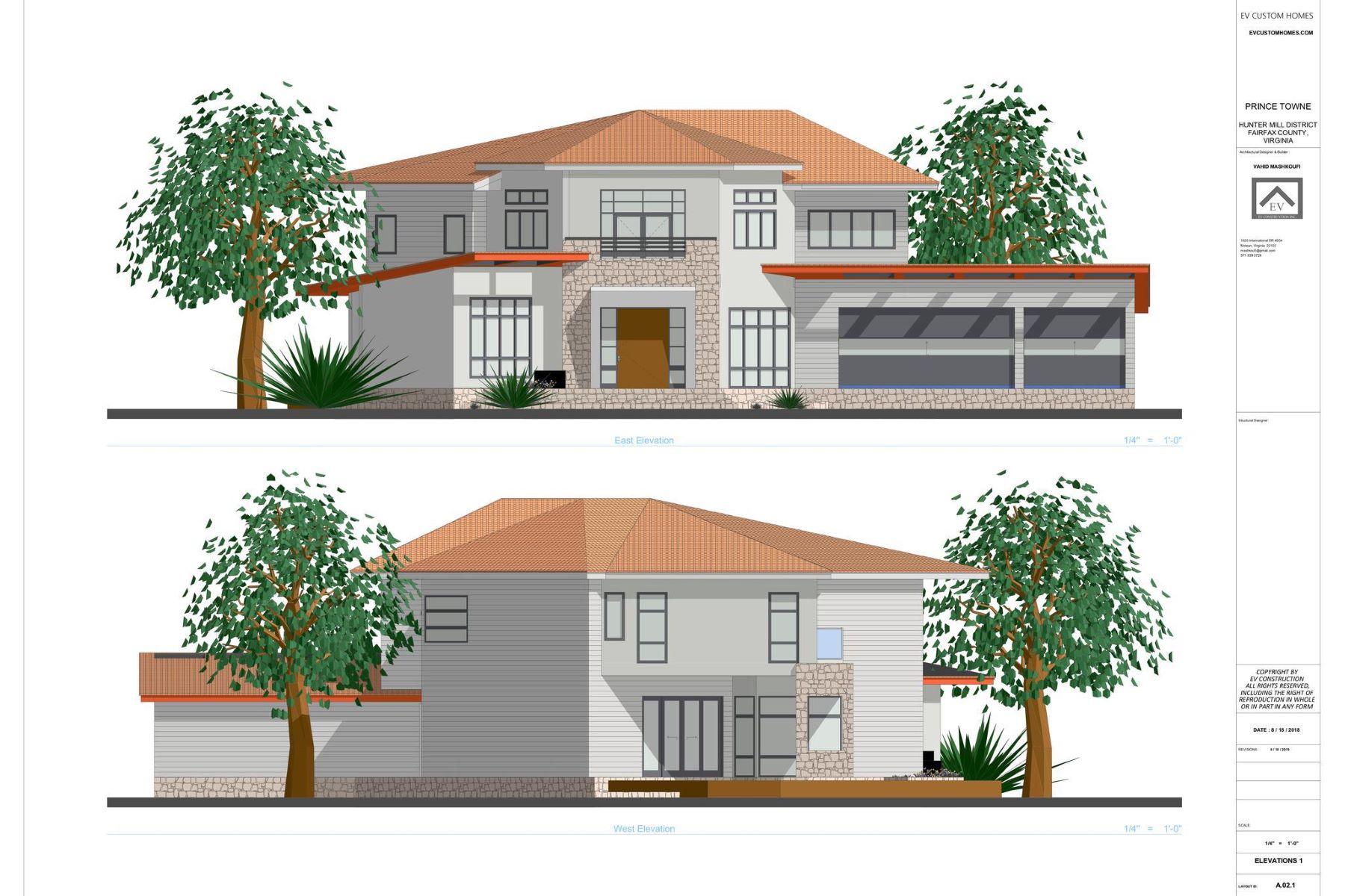 Single Family Homes для того Продажа на 2927 West Ox Rd Herndon, Виргиния 20171 Соединенные Штаты