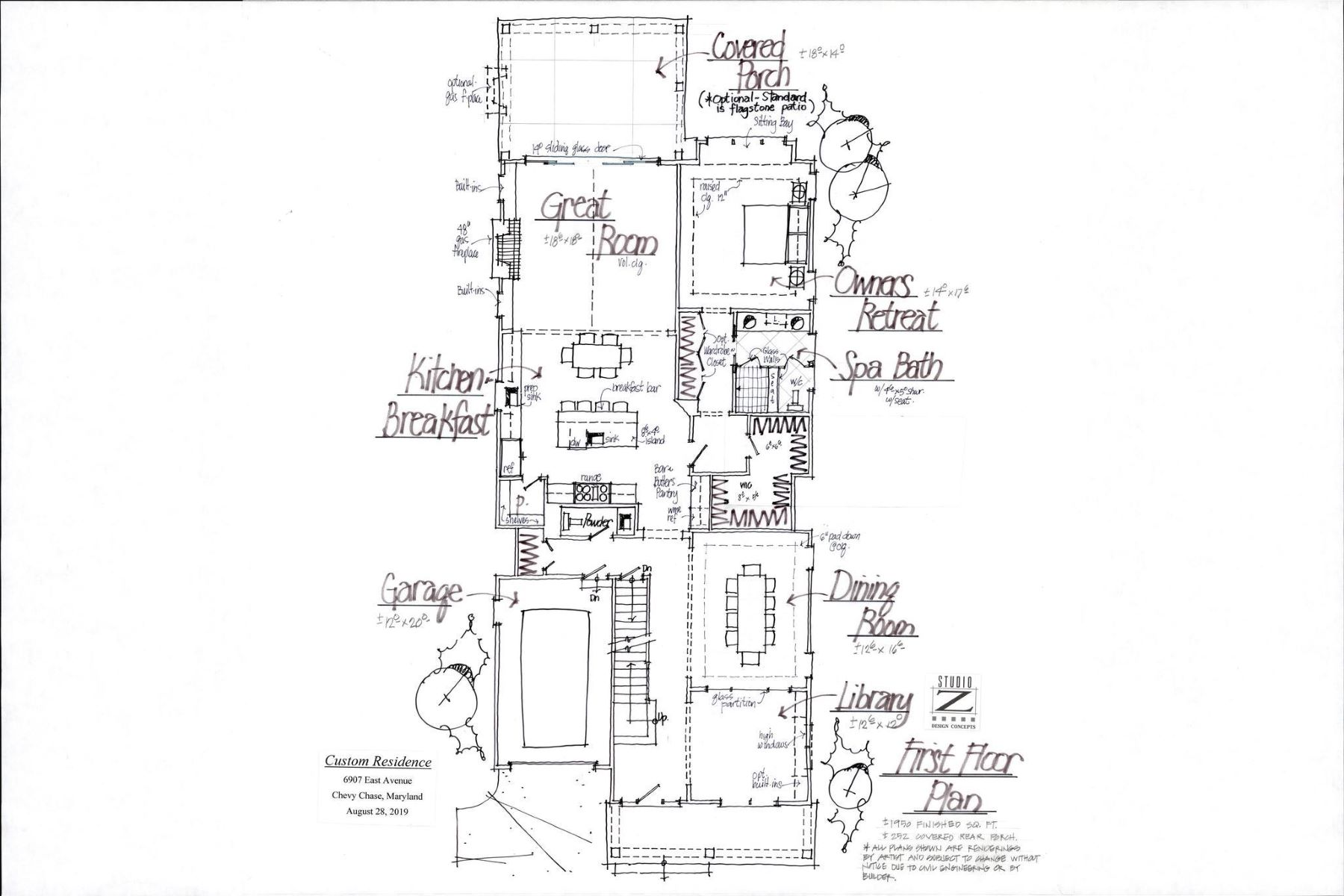 Single Family Homes 为 销售 在 6907 East Ave 切维莱斯, 马里兰州 20815 美国
