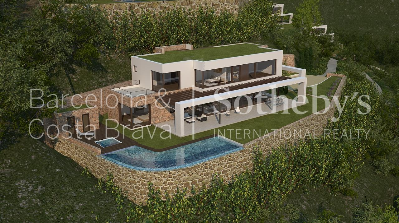 Property For Sale at Promotion Luxury villas with sea views, Begur.