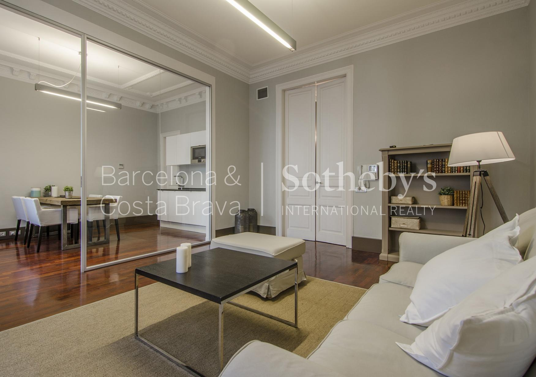 Apartment for Sale at Nice Apartment in the Right Side of the Eixample Eixample, Barcelona City, Barcelona 08007 Spain