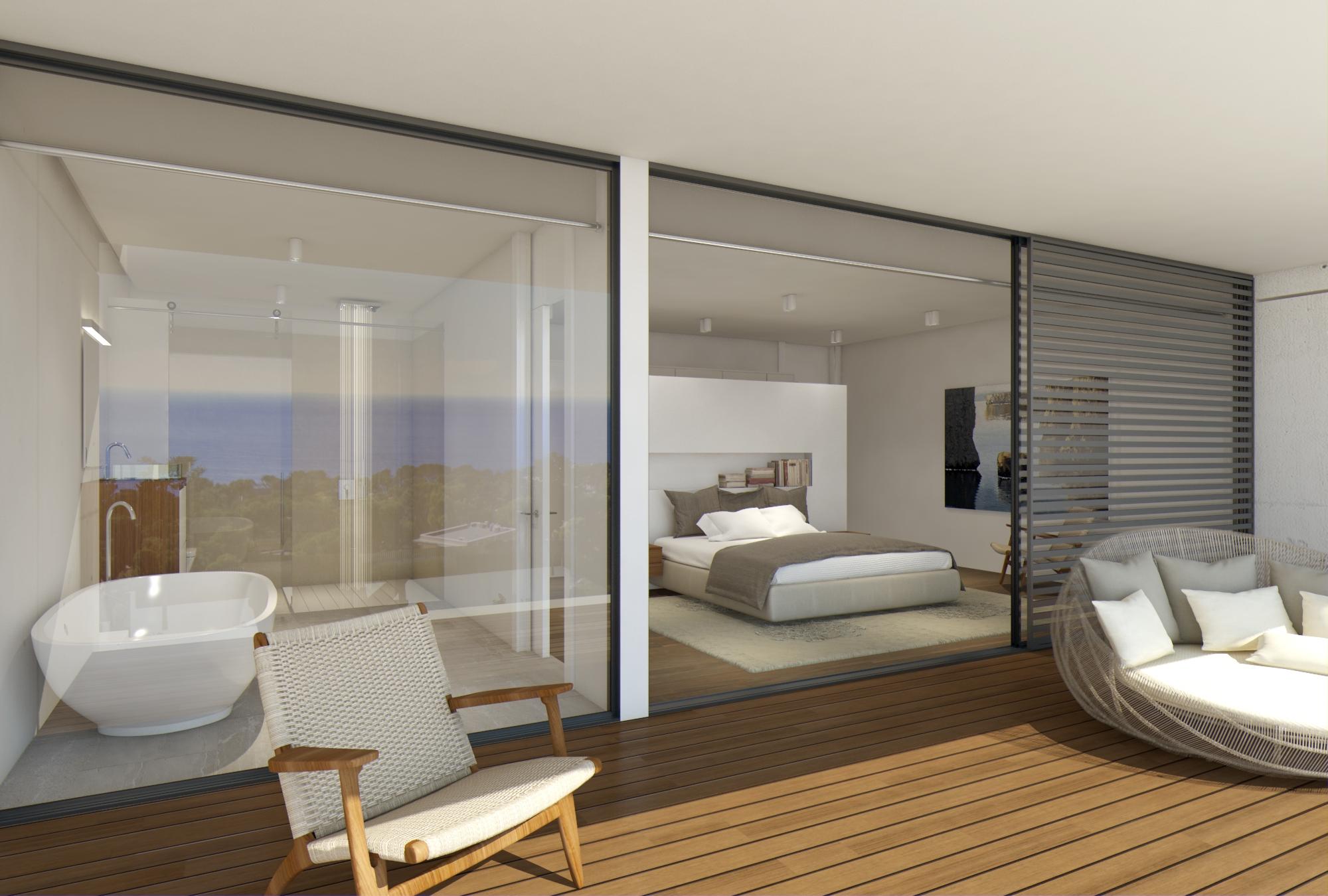 Wohnung für Verkauf beim Penthouse with sea view in a new exclusive development Playa De Aro, Costa Brava, 17250 Spanien