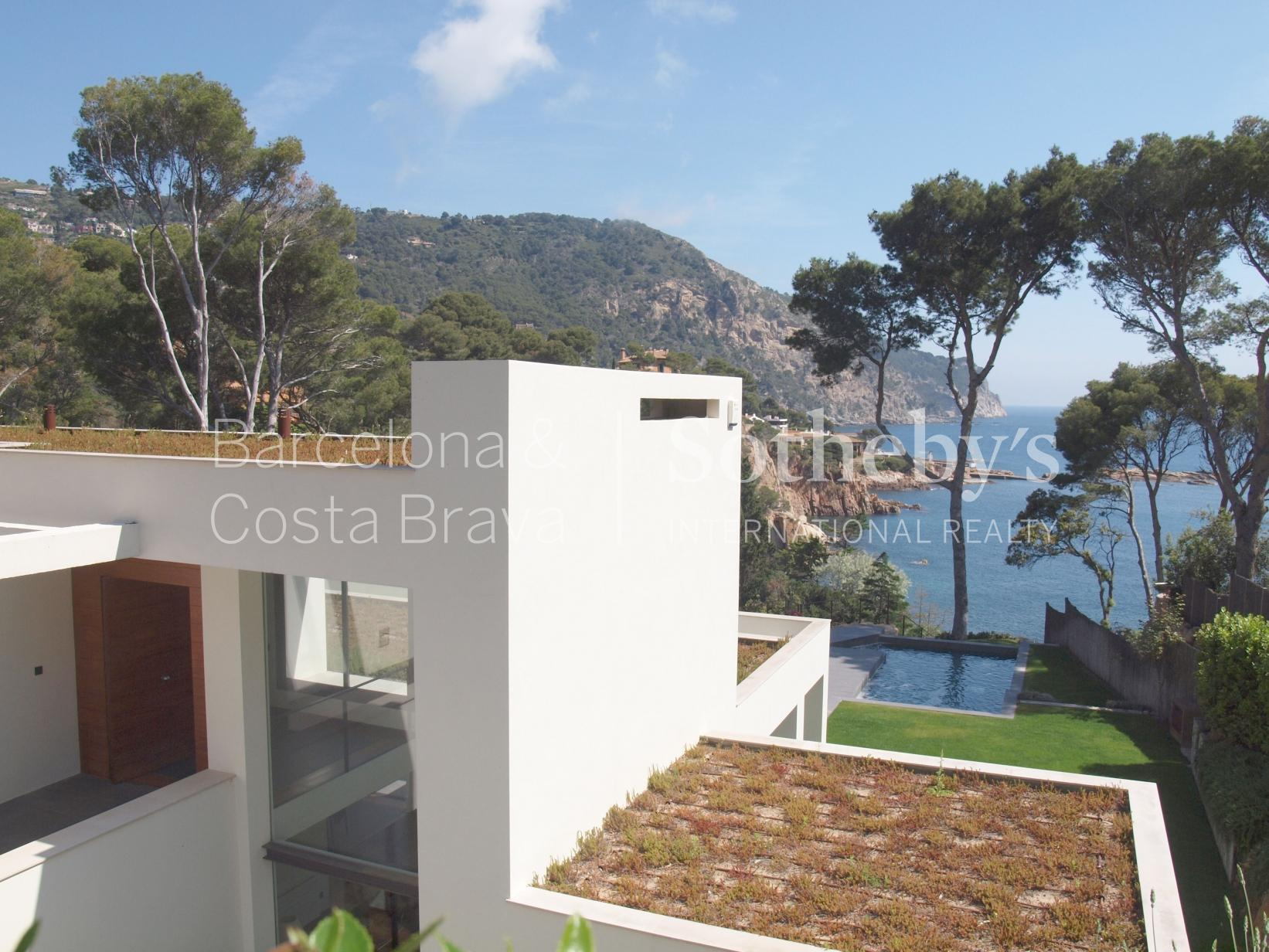 Property For Sale at Magnificent modern sea front villa for sale in Aiguablava