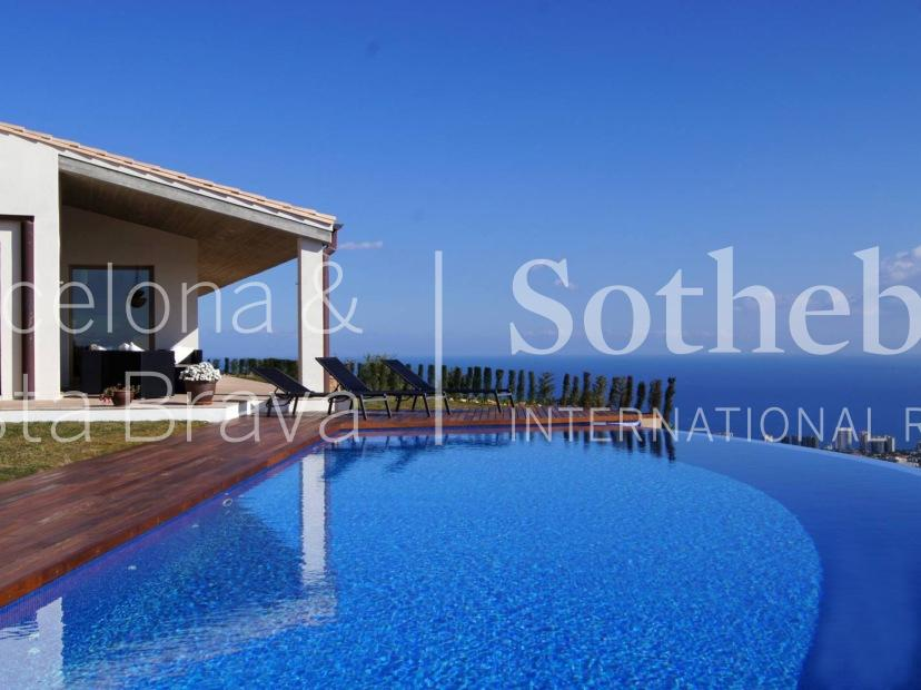 Single Family Home for Sale at Lovely house with splendid sea views in Mas Semi Playa De Aro, Costa Brava 17250 Spain
