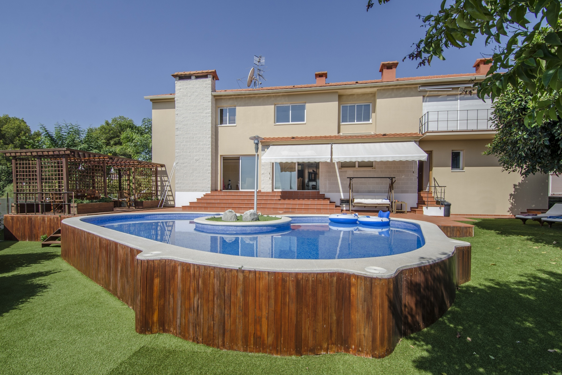 Single Family Home for Sale at Modern Designer House Situated in Santa Bárbara Sitges Sitges, Barcelona, 08870 Spain