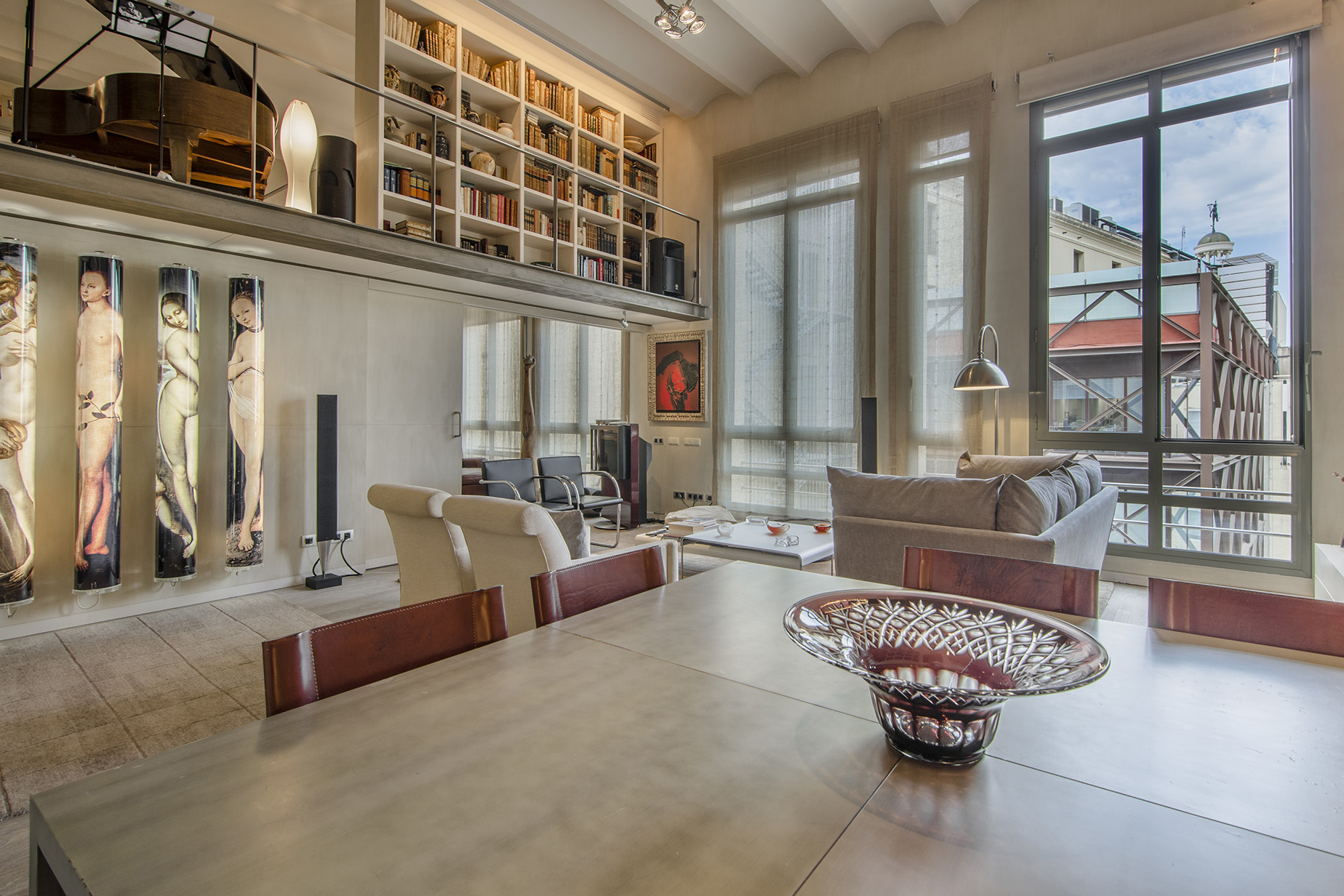 Appartement pour l Vente à Exquisite Luxury Duplex on Paseo de Gracia, Barcelona Eixample, Barcelona City, Barcelona, 08007 Espagne